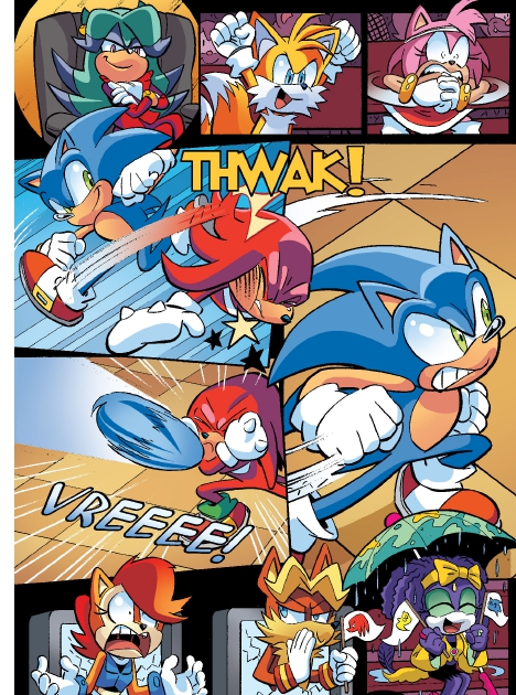 Read online Sonic Comics Spectacular: Speed of Sound comic -  Issue # Full - 64