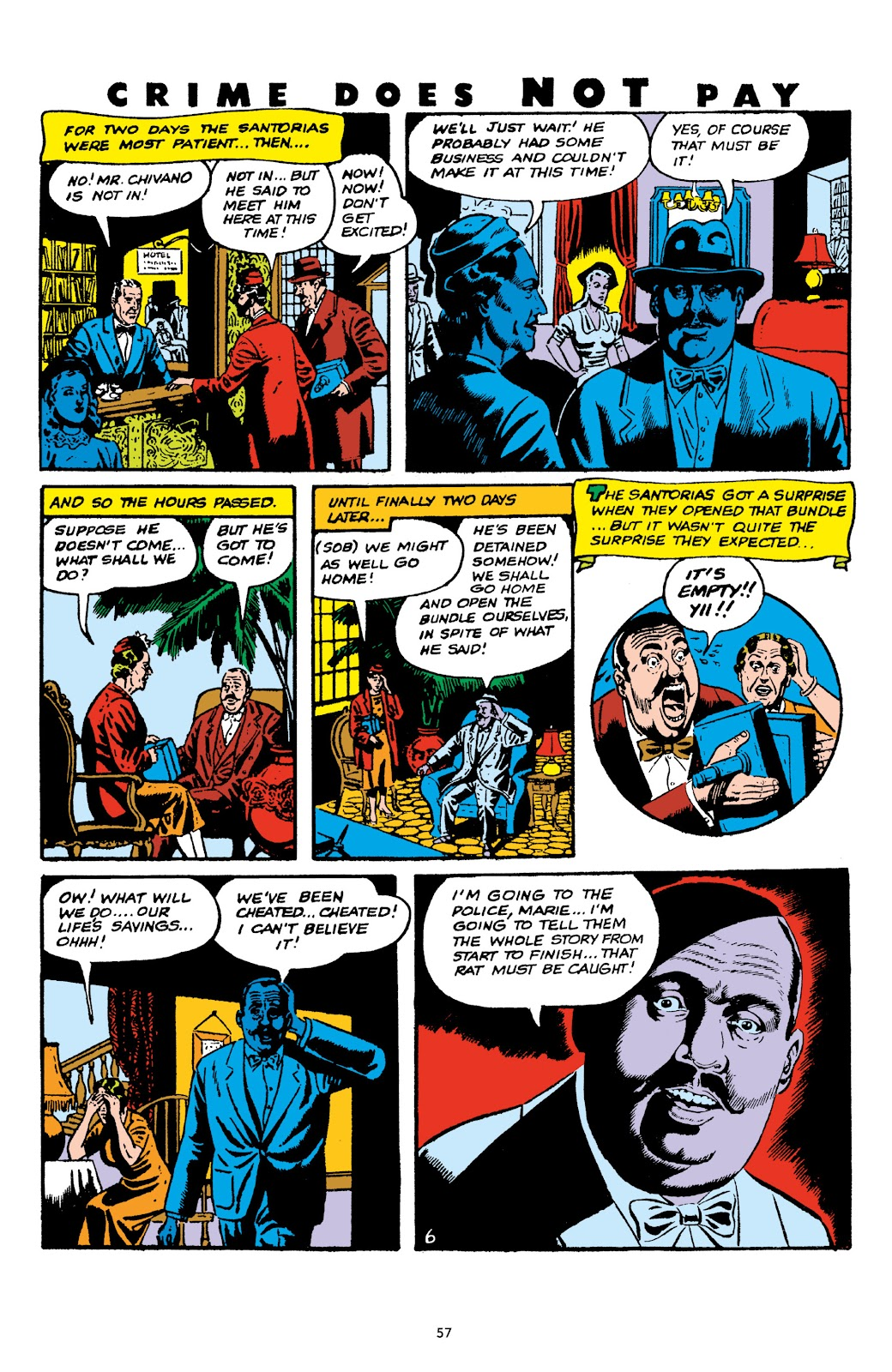Read online Crime Does Not Pay Archives comic -  Issue # TPB 6 (Part 1) - 59