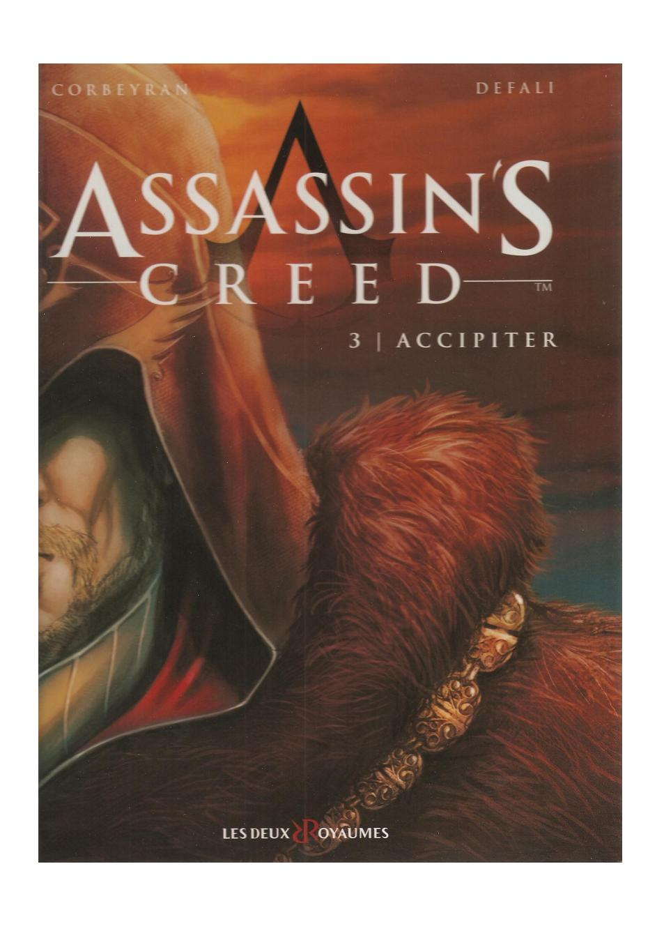 Read online Assassin's Creed (2009) comic -  Issue #3 - 1