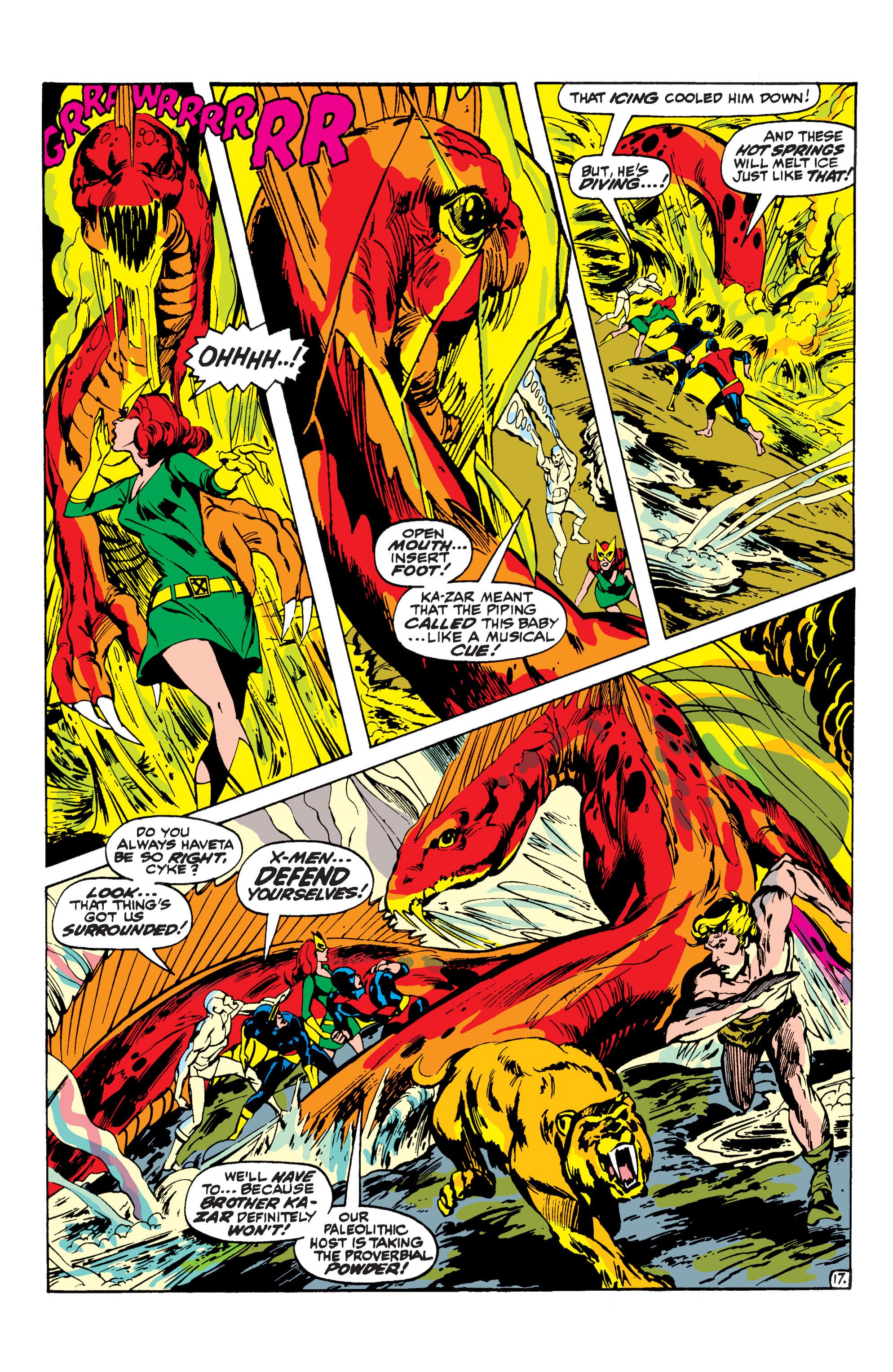 Uncanny X-Men (1963) 62 Page 17