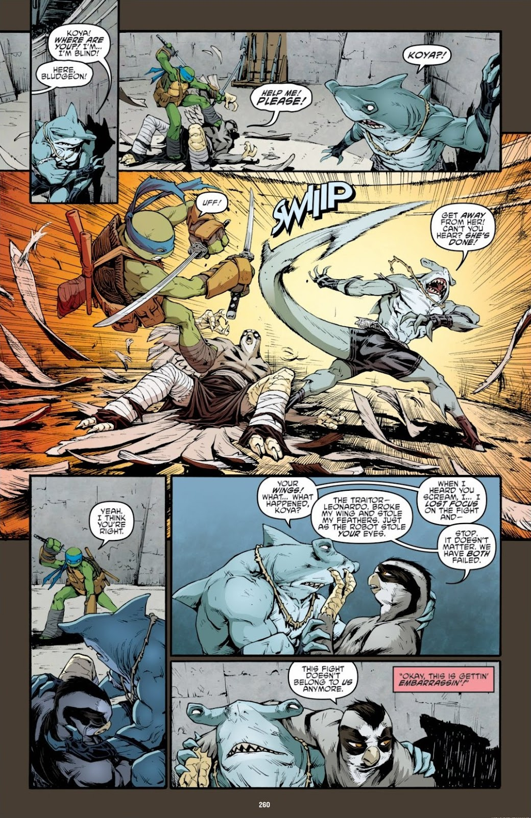 Read online Teenage Mutant Ninja Turtles: The IDW Collection comic -  Issue # TPB 6 (Part 3) - 53