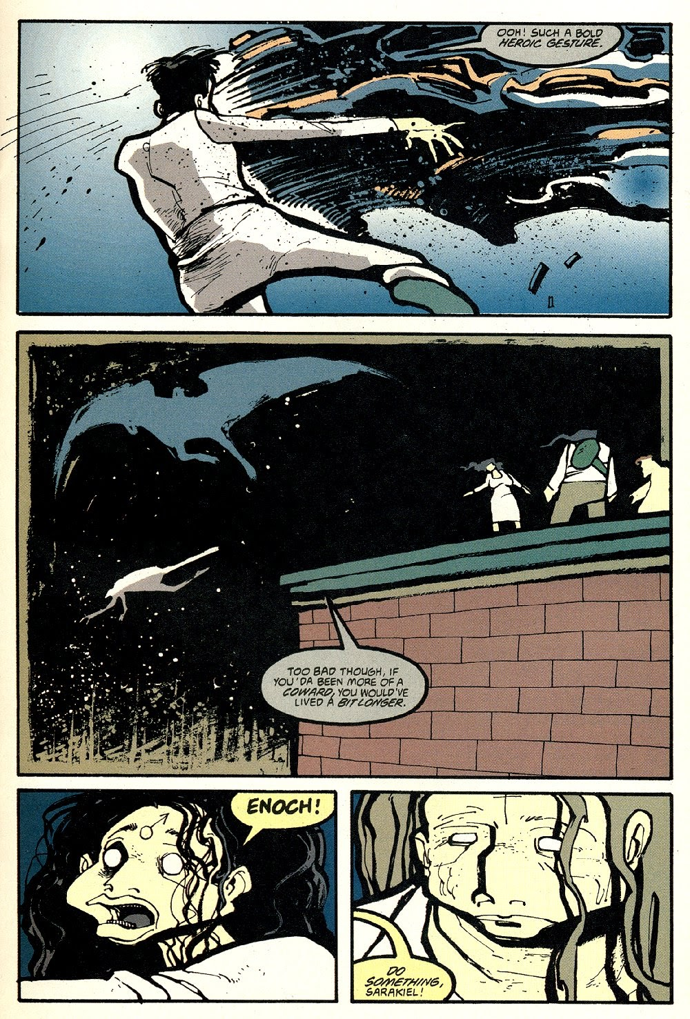 Read online Ted McKeever's Metropol comic -  Issue #8 - 11