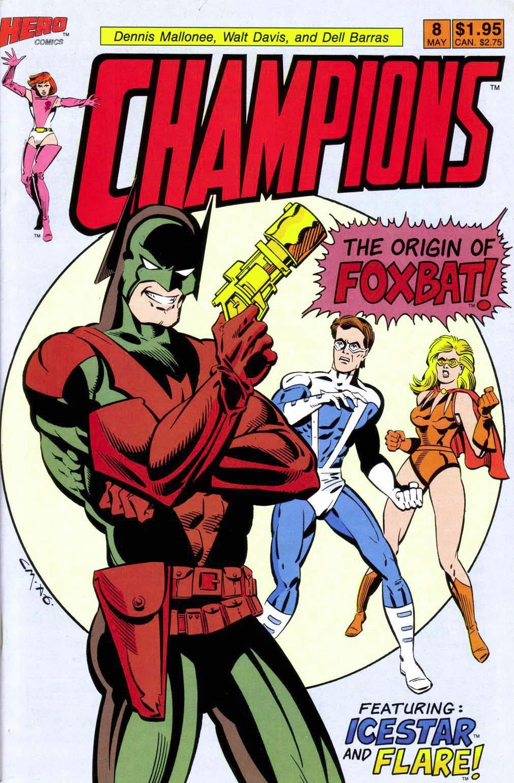 Champions (1987) 8 Page 1