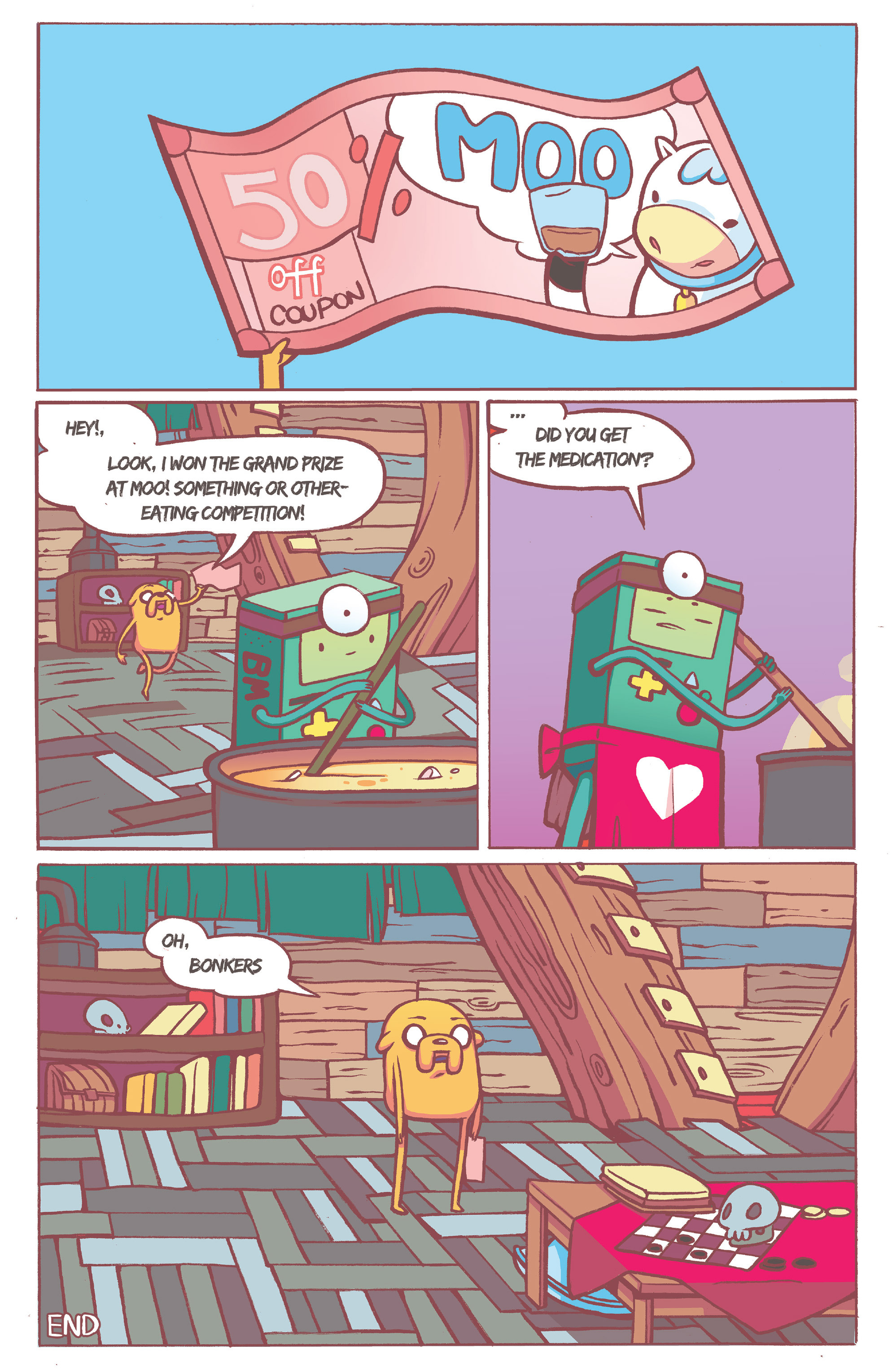 Read online Adventure Time comic -  Issue #36 - 24