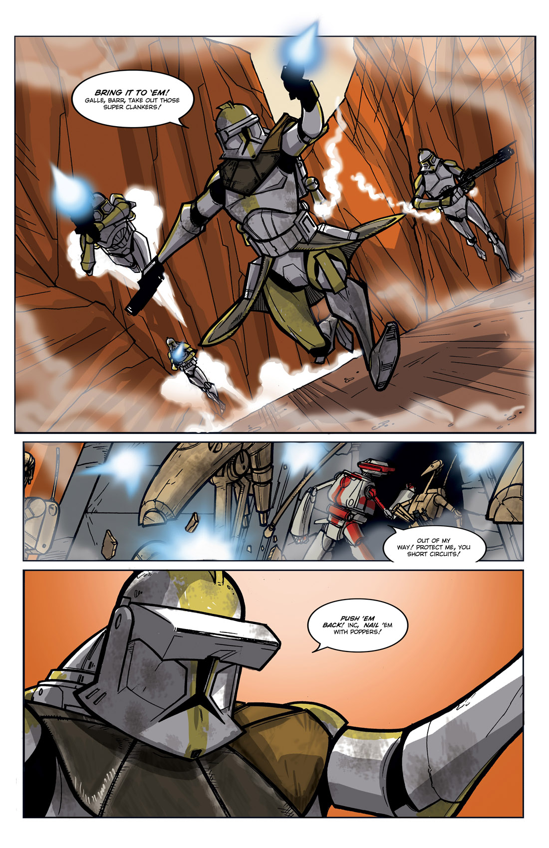 Read online Star Wars: Tales From The Clone Wars comic -  Issue # TPB - 92