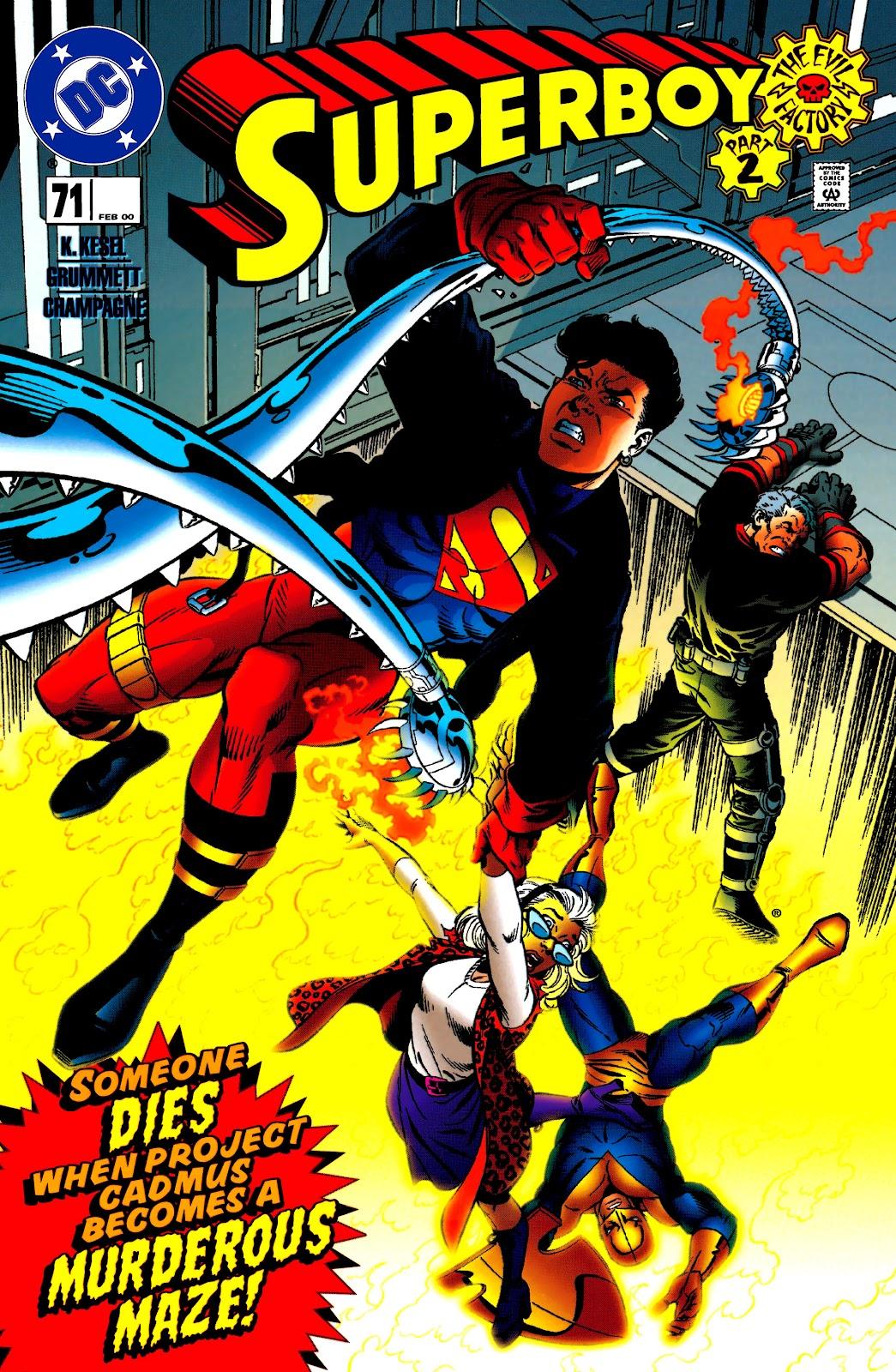 Superboy (1994) 71 Page 1