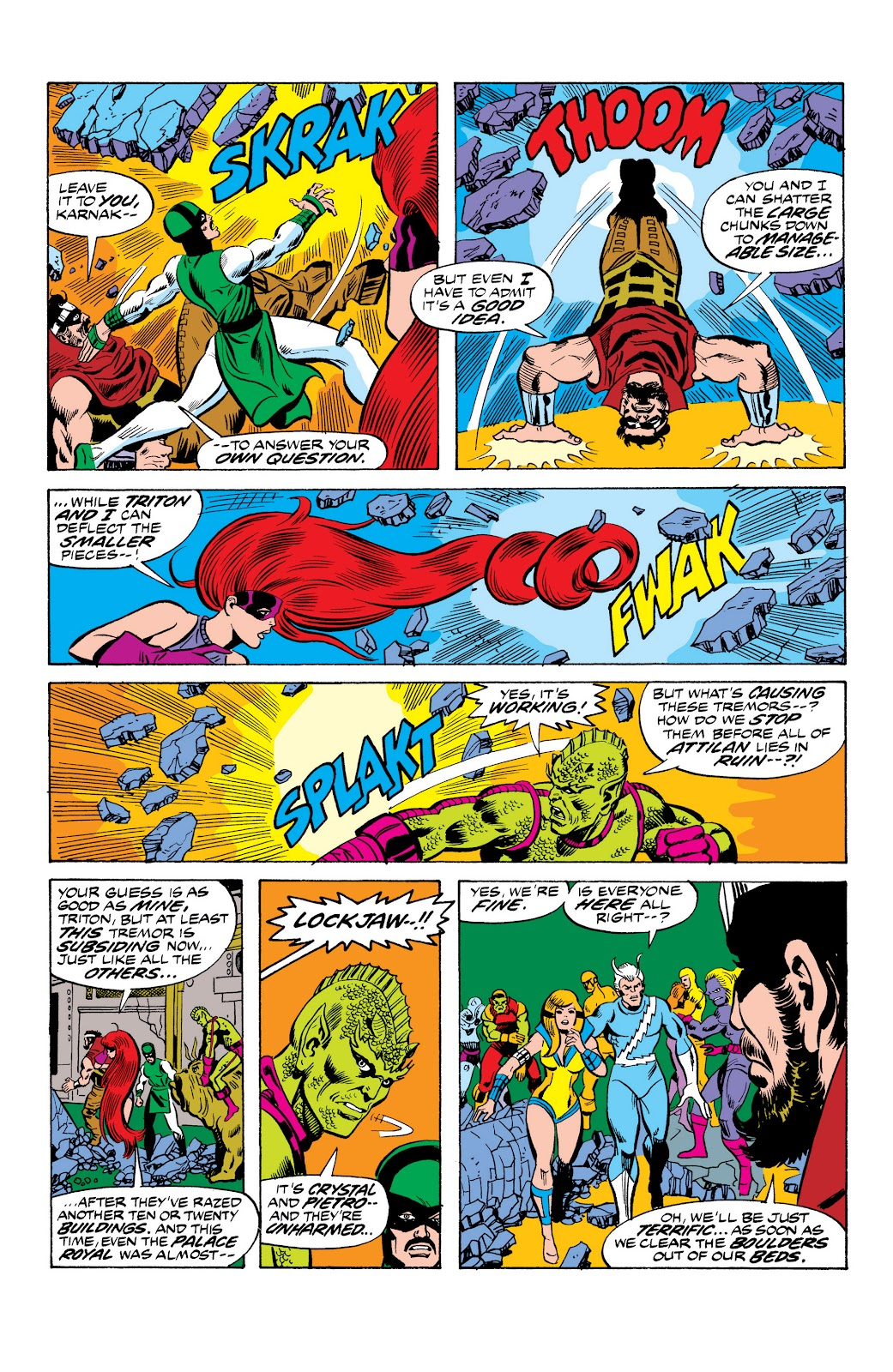 Read online Marvel Masterworks: The Inhumans comic -  Issue # TPB 2 (Part 1) - 49