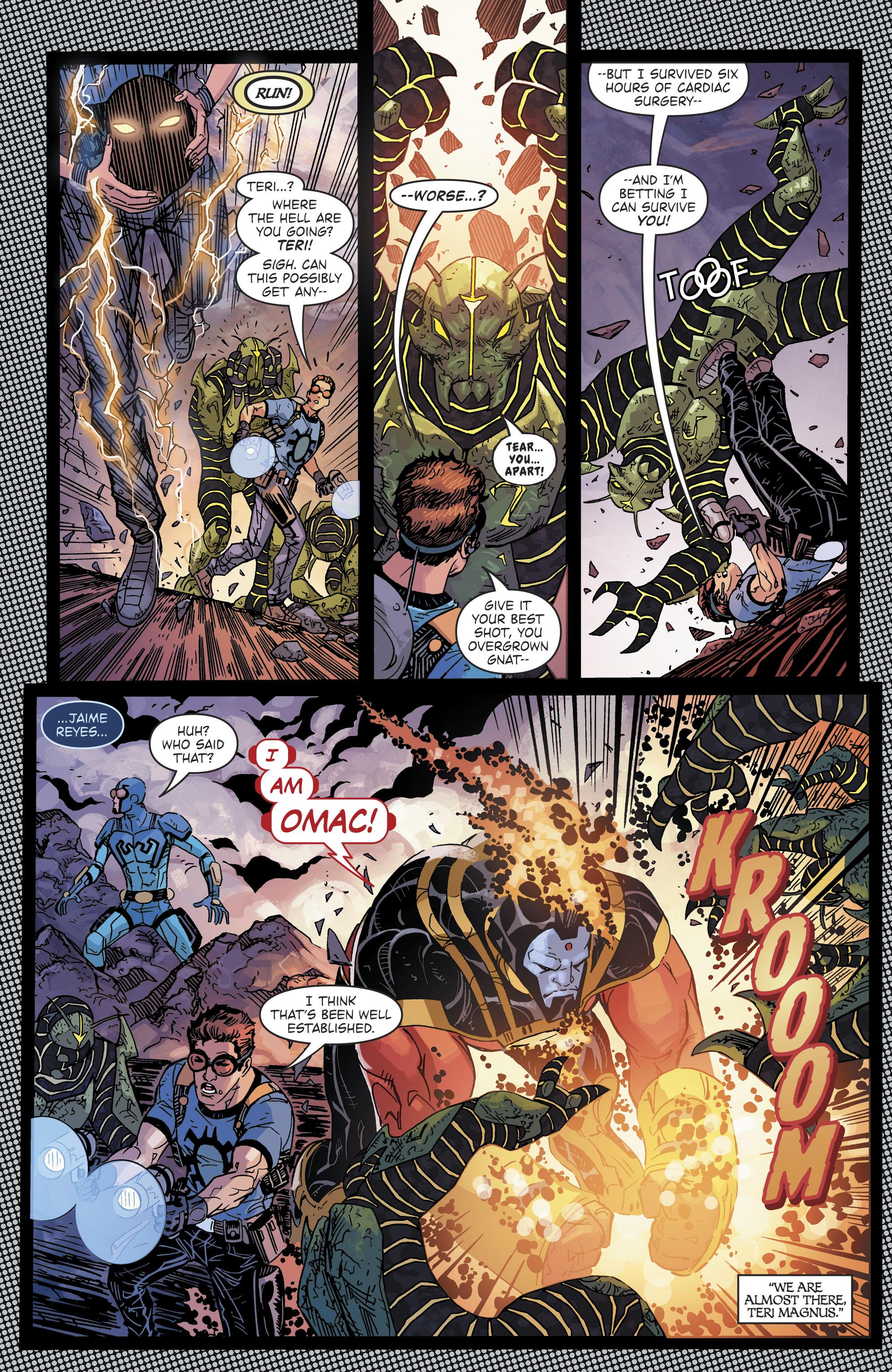 Read online Blue Beetle (2016) comic -  Issue #9 - 18