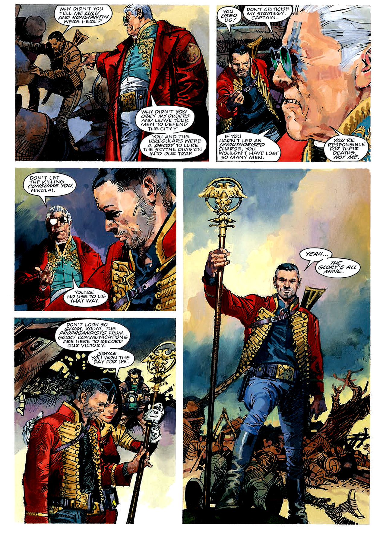 Read online Nikolai Dante comic -  Issue # TPB 4 - 16