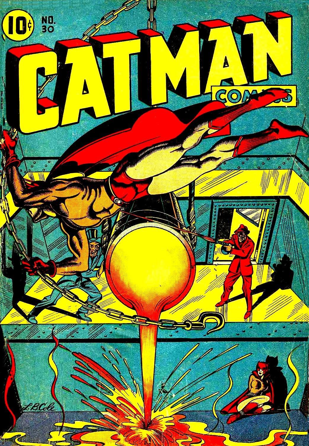 Cat-Man Comics 30 Page 1