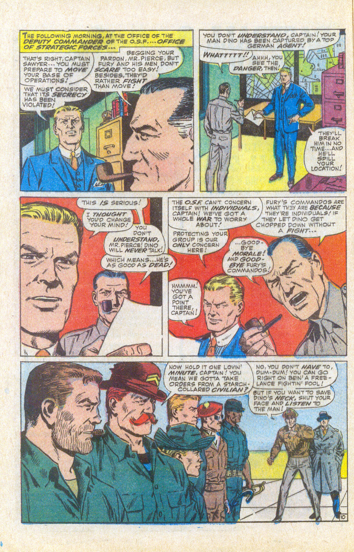 Read online Sgt. Fury comic -  Issue #58 - 16