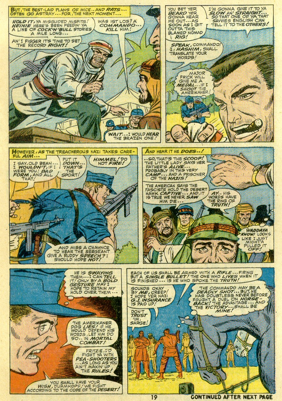 Read online Sgt. Fury comic -  Issue #107 - 21