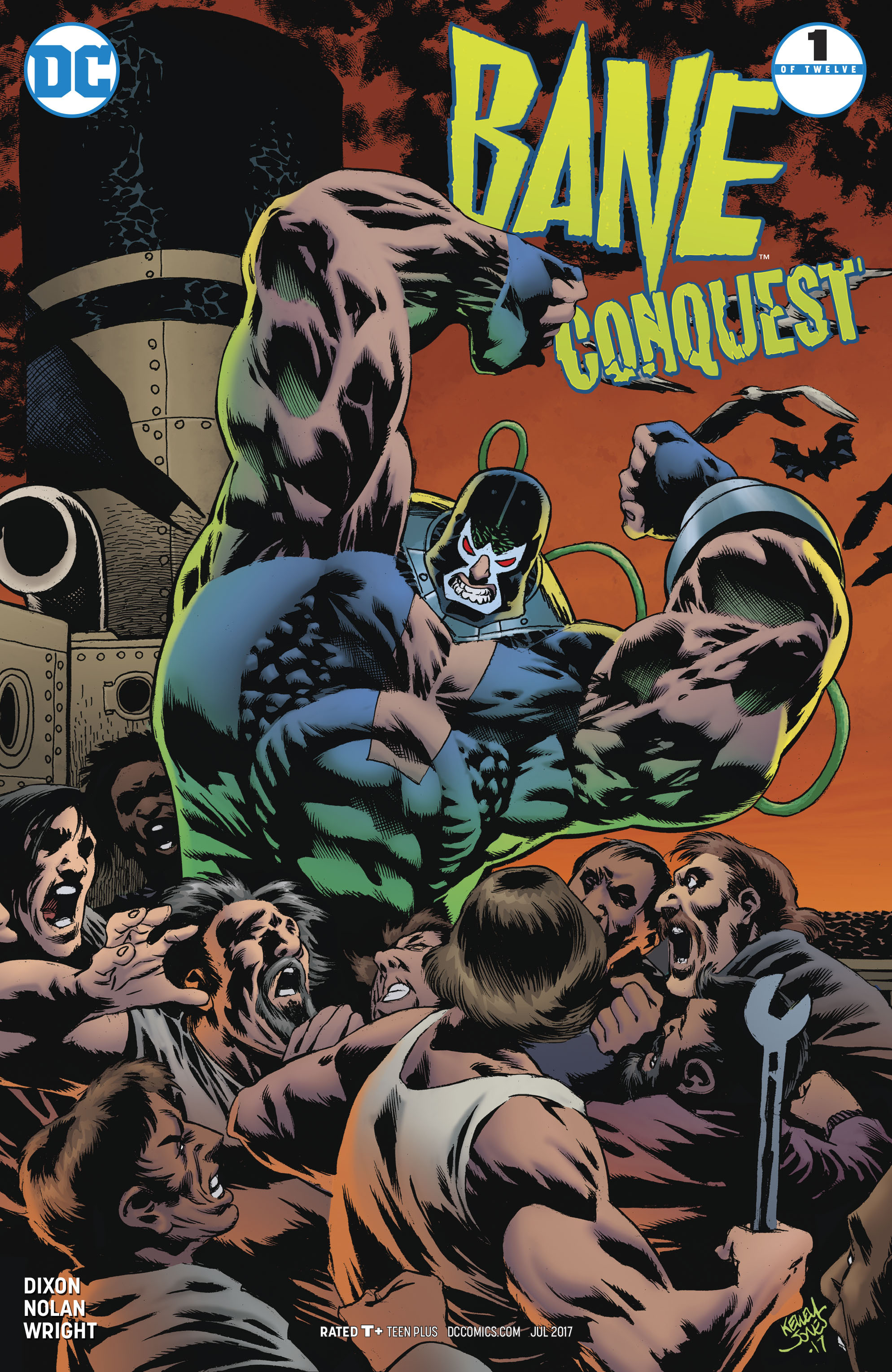 Read online Bane: Conquest comic -  Issue #1 - 3