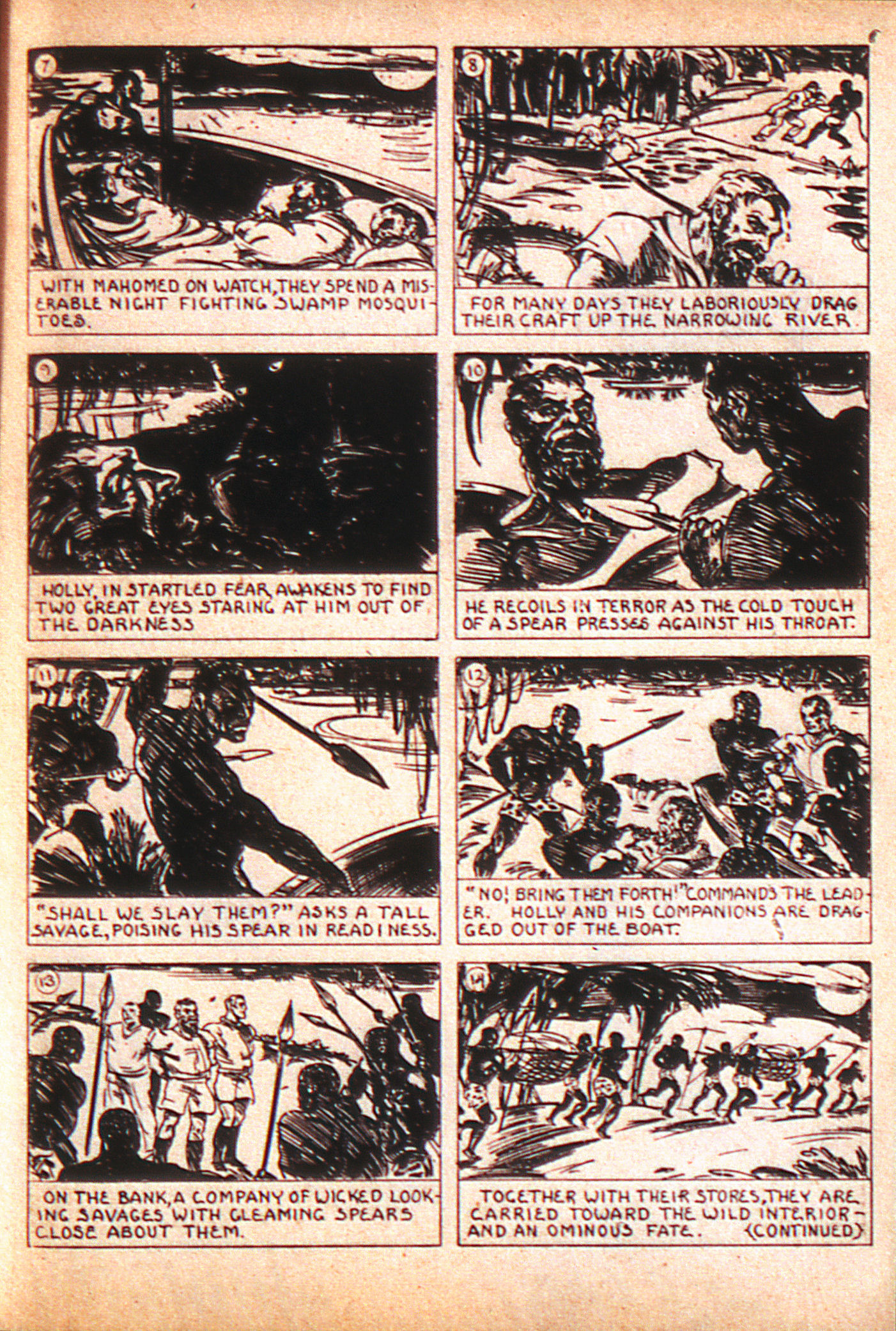 Read online Adventure Comics (1938) comic -  Issue #8 - 30