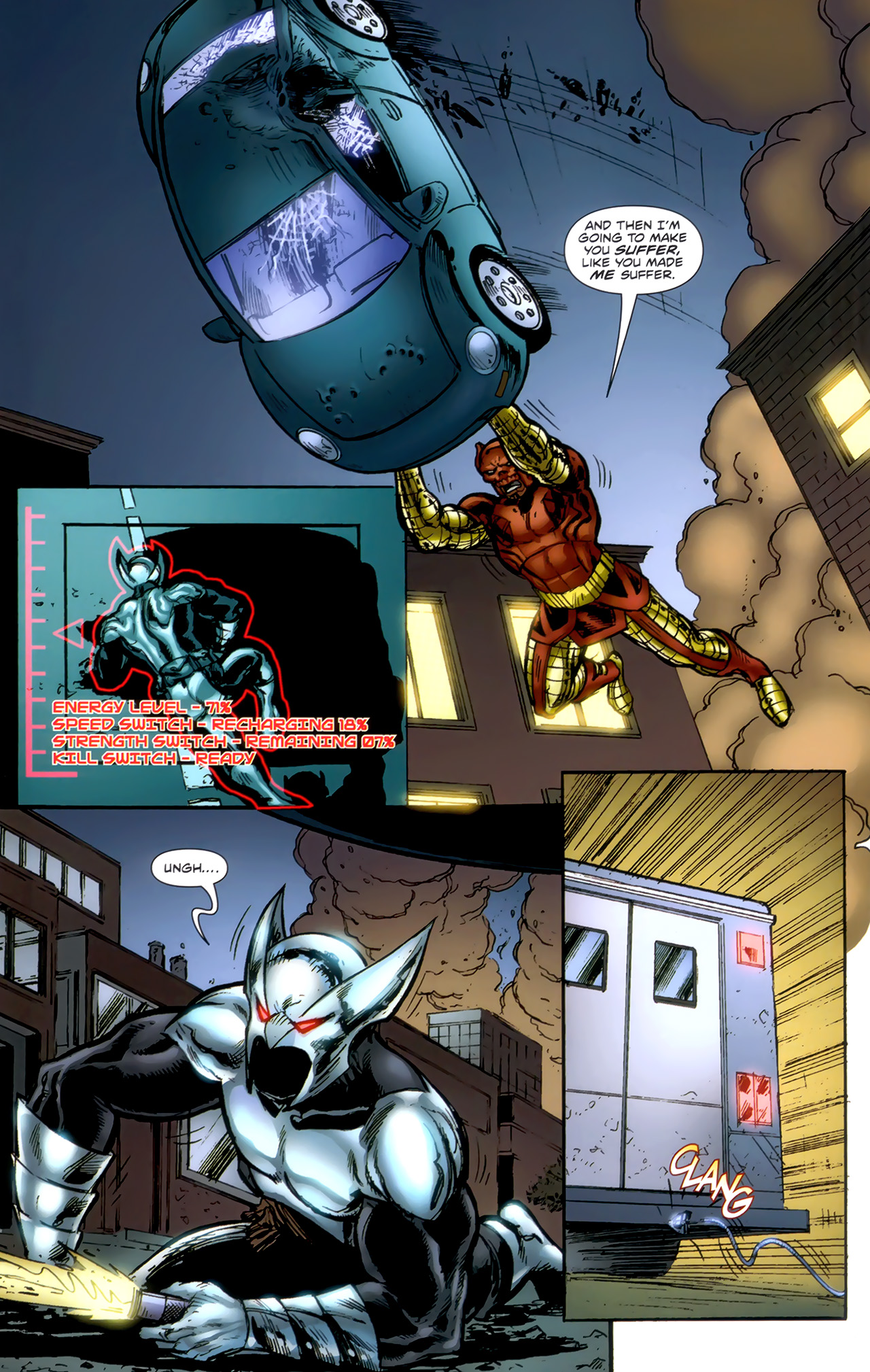Read online ShadowHawk (2010) comic -  Issue #1 - 15