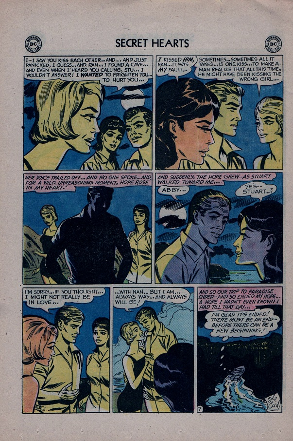 Read online Secret Hearts comic -  Issue #79 - 24