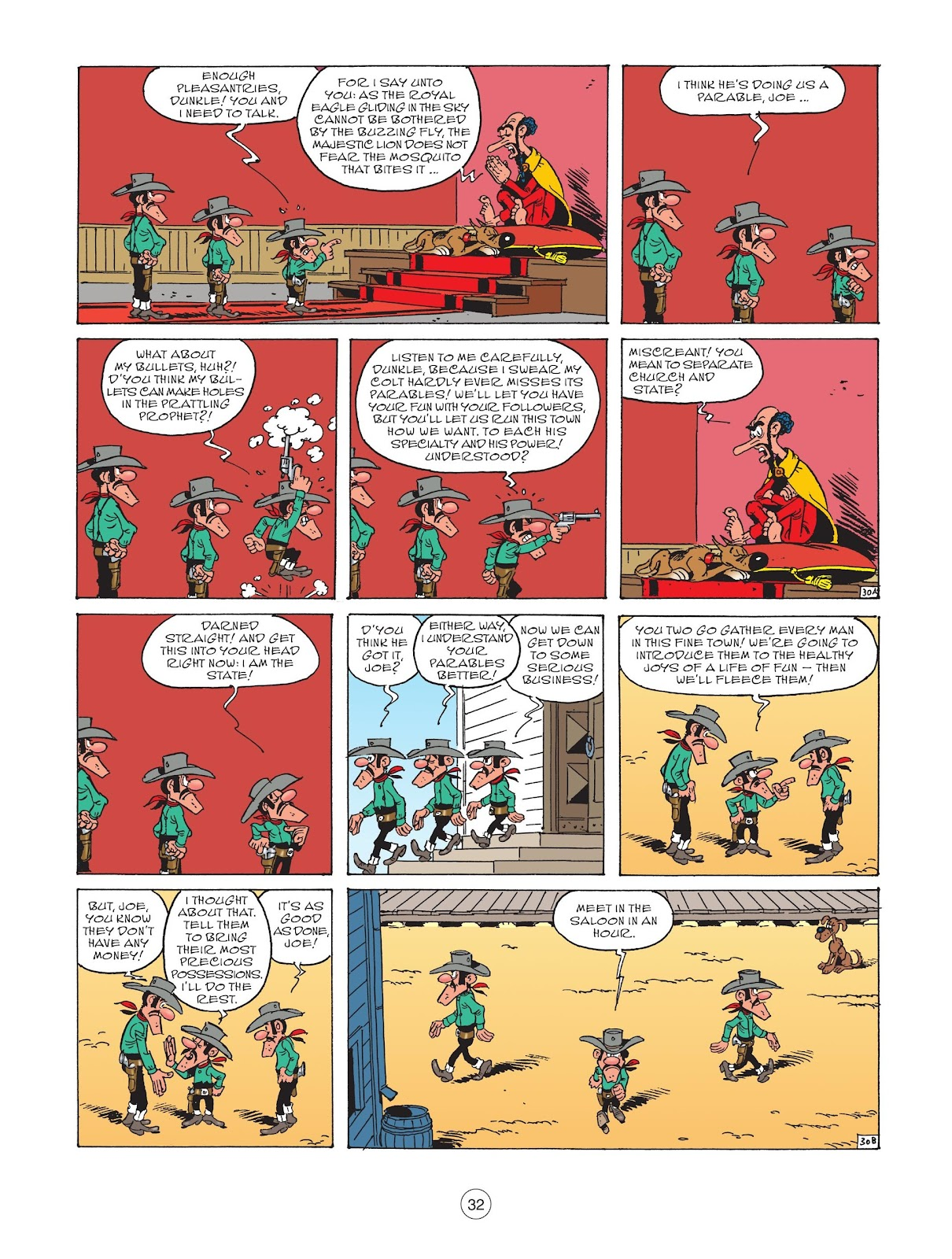 A Lucky Luke Adventure issue 73 - Page 34