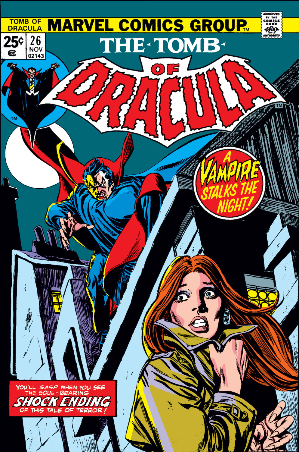 Tomb of Dracula (1972) issue 26 - Page 1