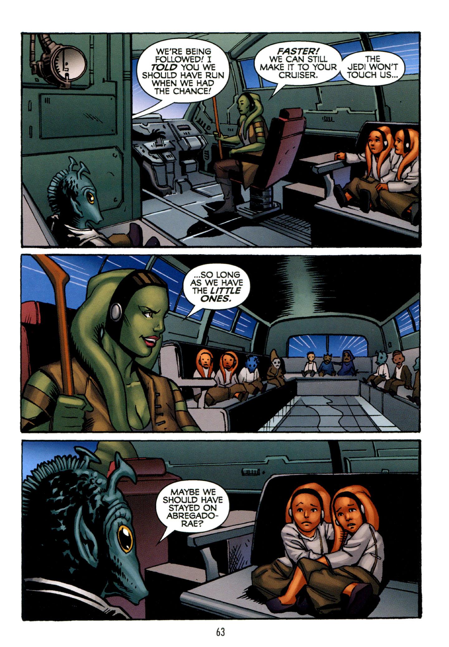 Read online Star Wars: The Clone Wars - Strange Allies comic -  Issue # Full - 64