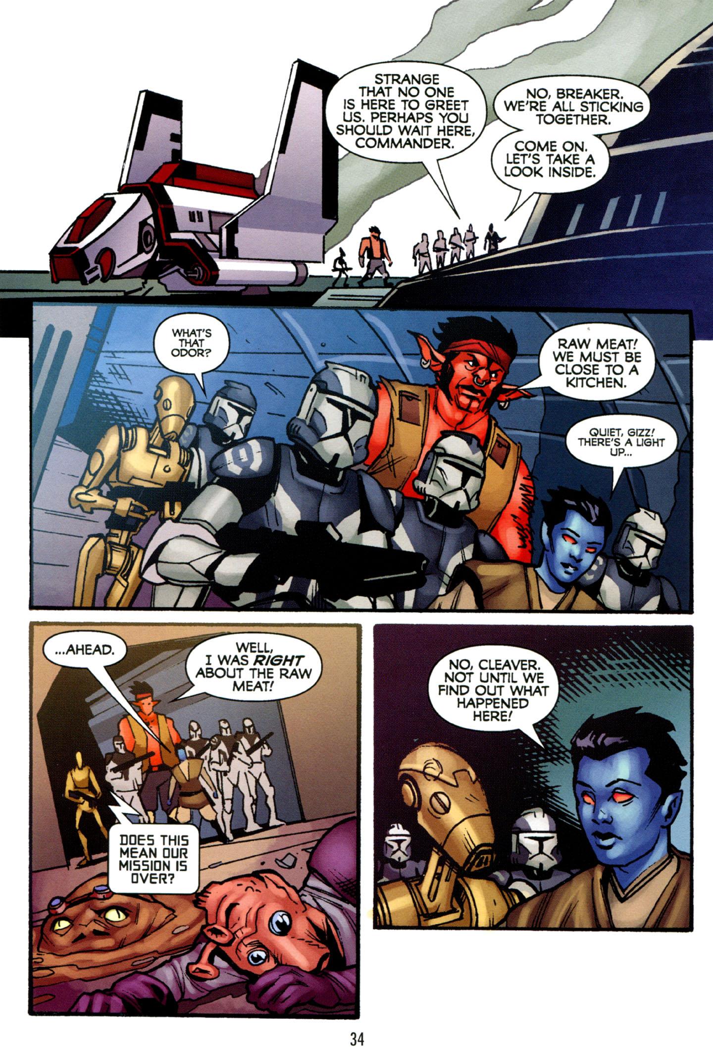Read online Star Wars: The Clone Wars - Strange Allies comic -  Issue # Full - 35