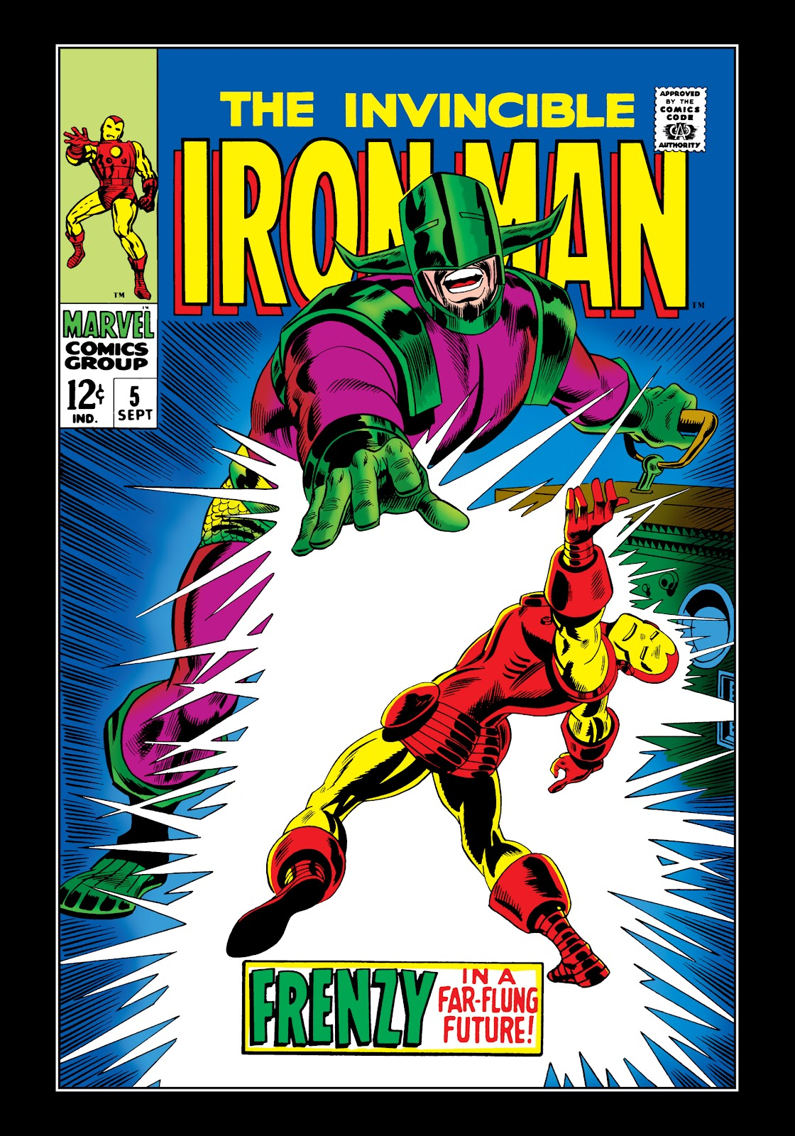 Read online Marvel Masterworks: The Invincible Iron Man comic -  Issue # TPB 5 (Part 1) - 70