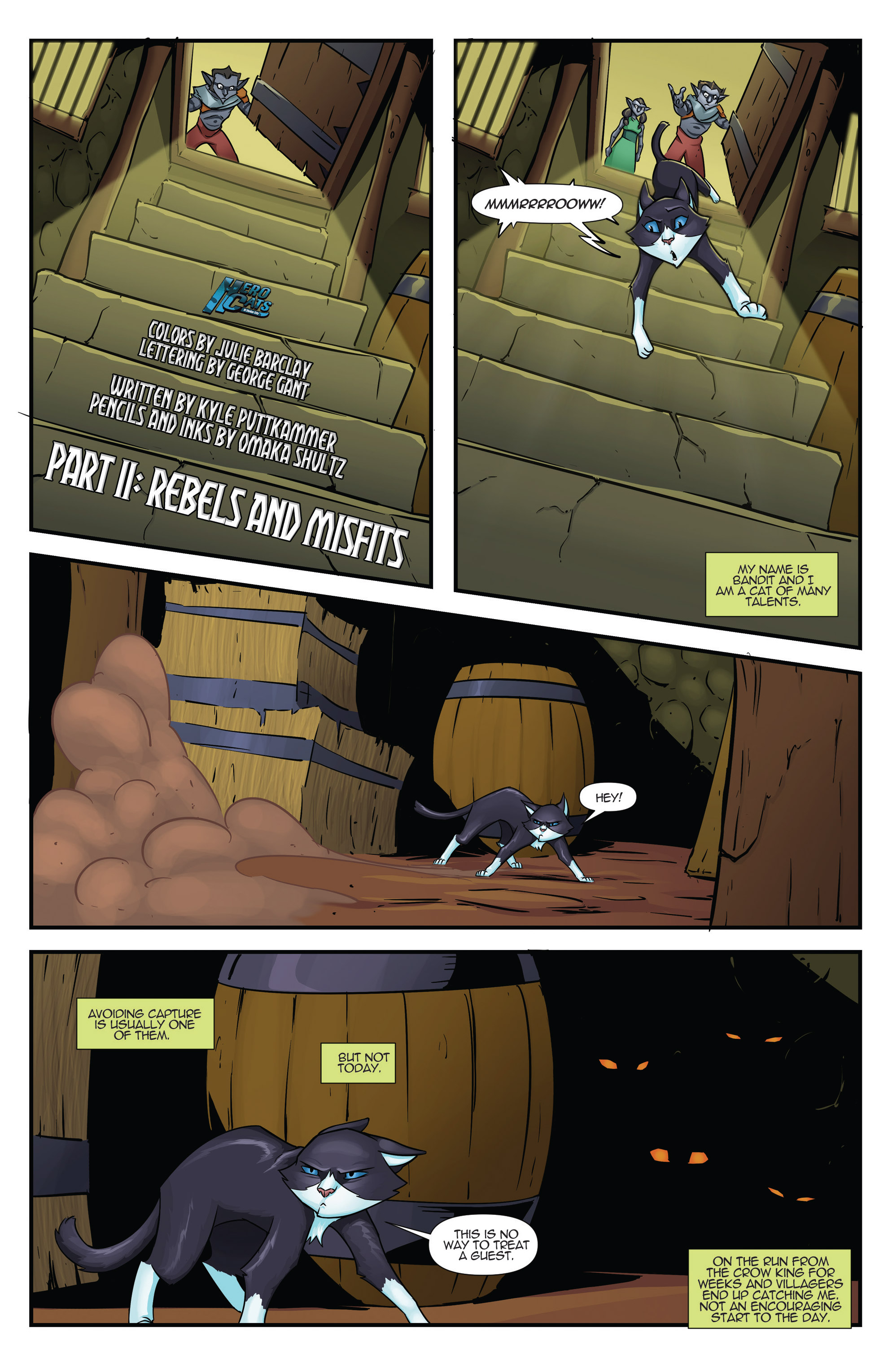 Read online Hero Cats comic -  Issue #17 - 2