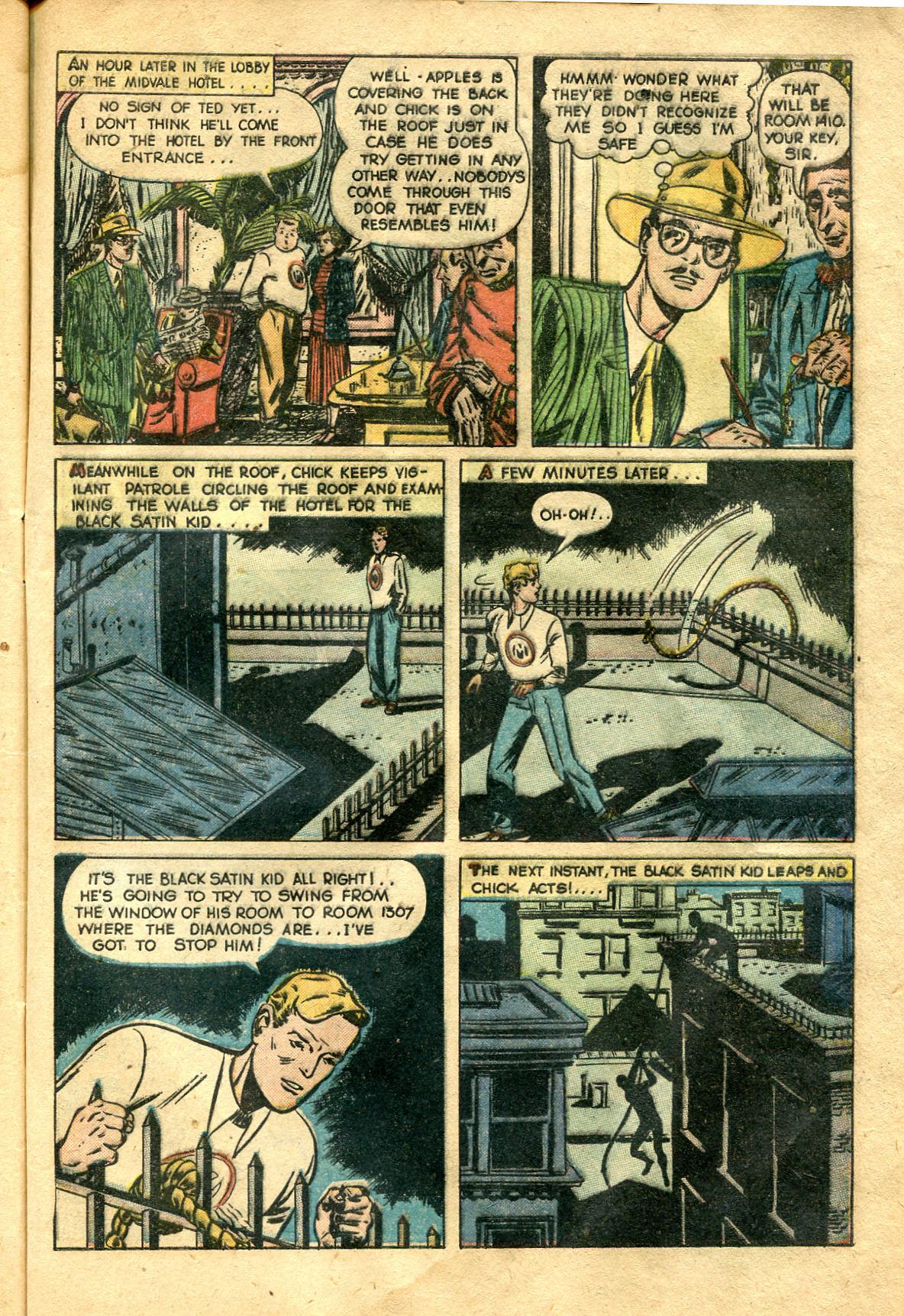 Read online Shadow Comics comic -  Issue #99 - 47