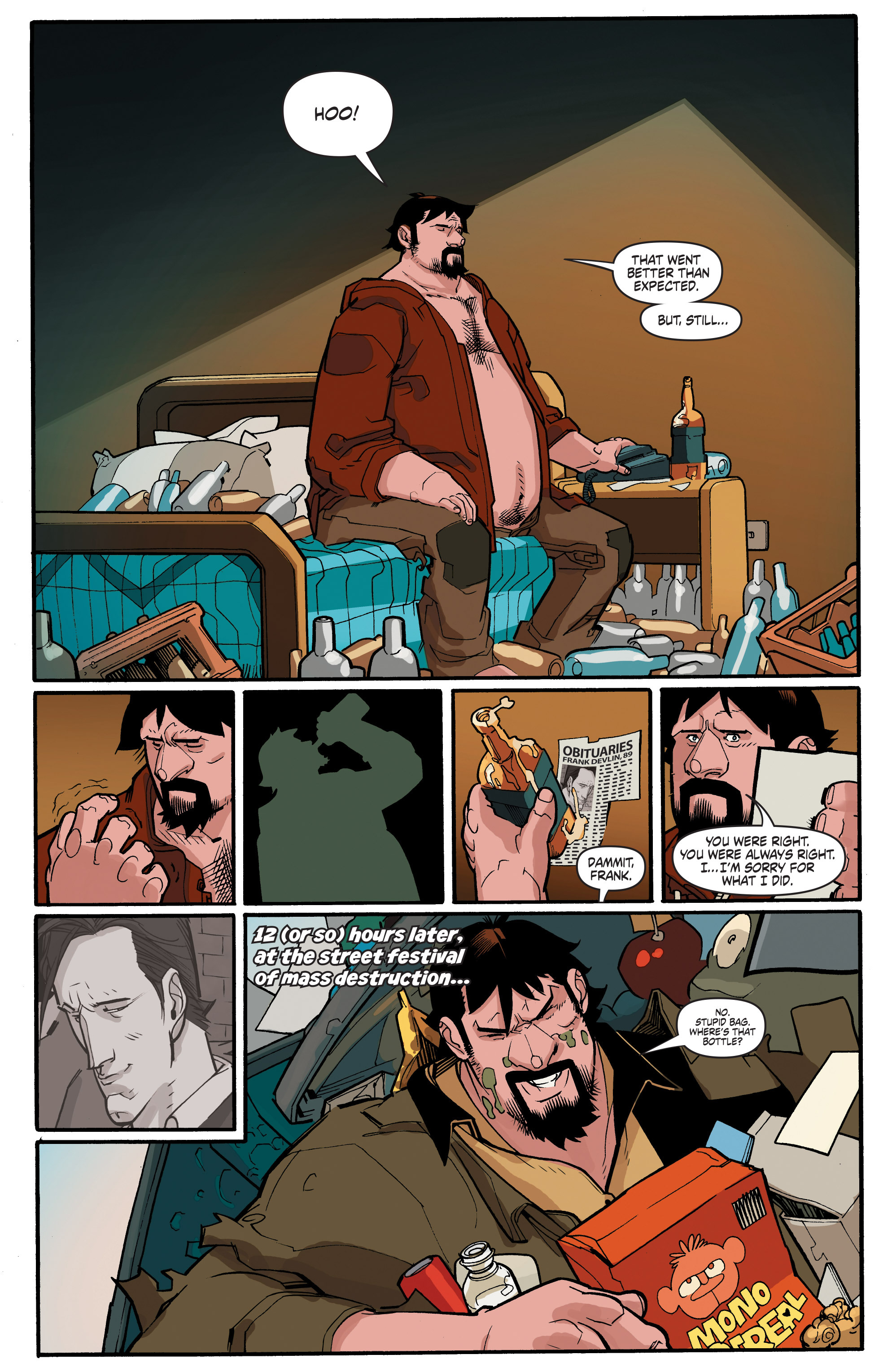 Read online A&A: The Adventures of Archer & Armstrong comic -  Issue #4 - 4