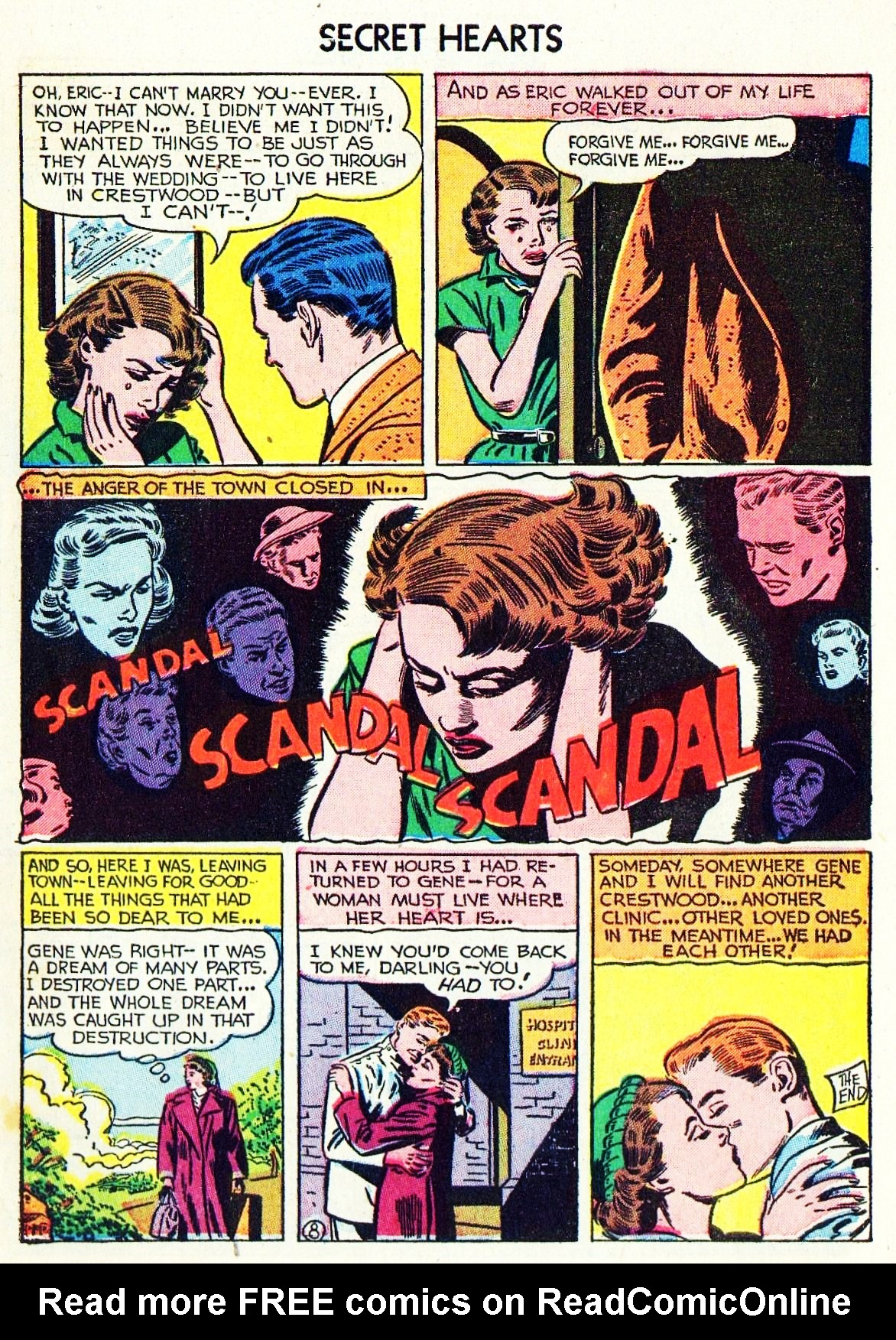 Read online Secret Hearts comic -  Issue #15 - 10