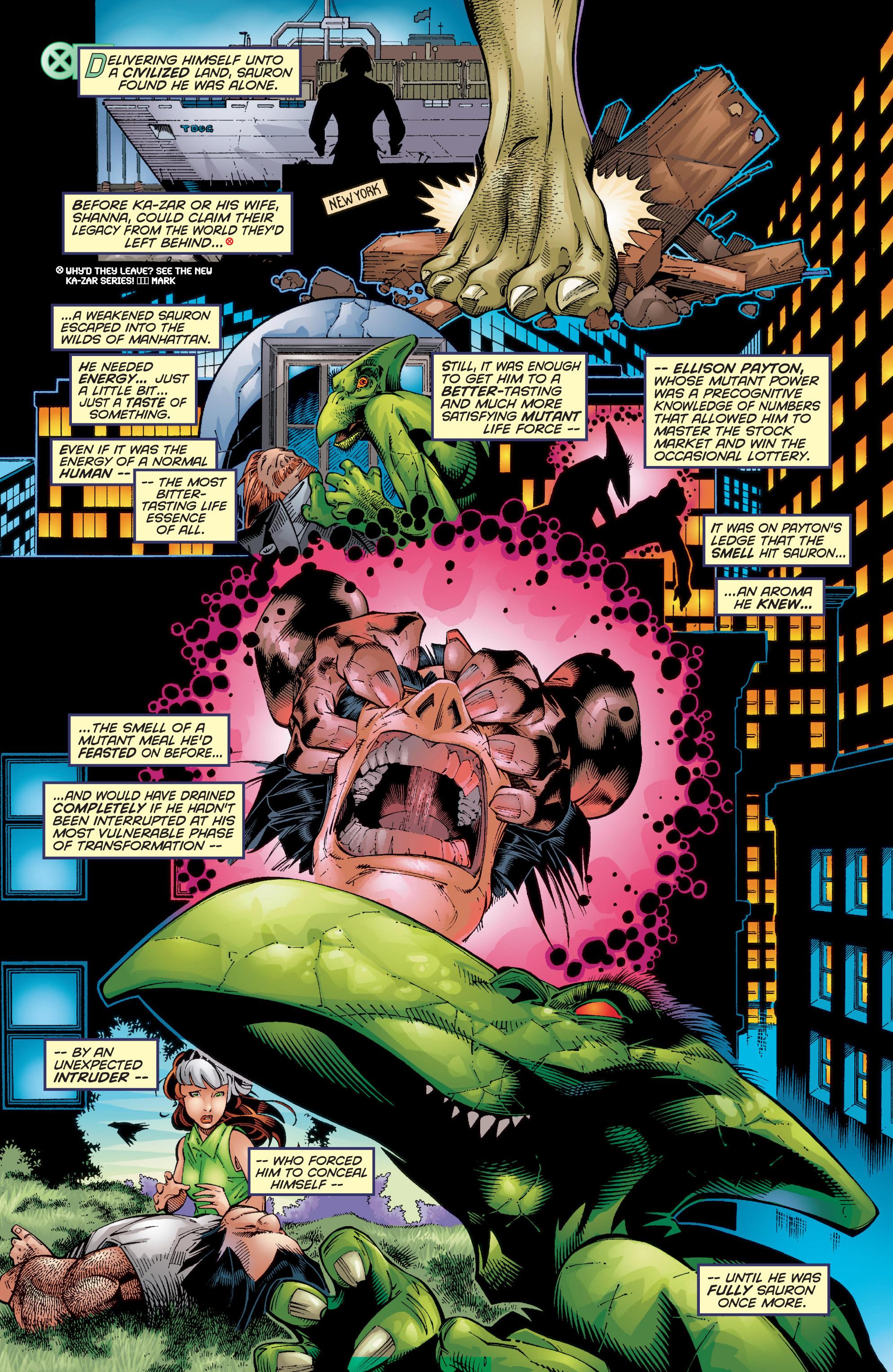 Read online Uncanny X-Men (1963) comic -  Issue #354 - 6