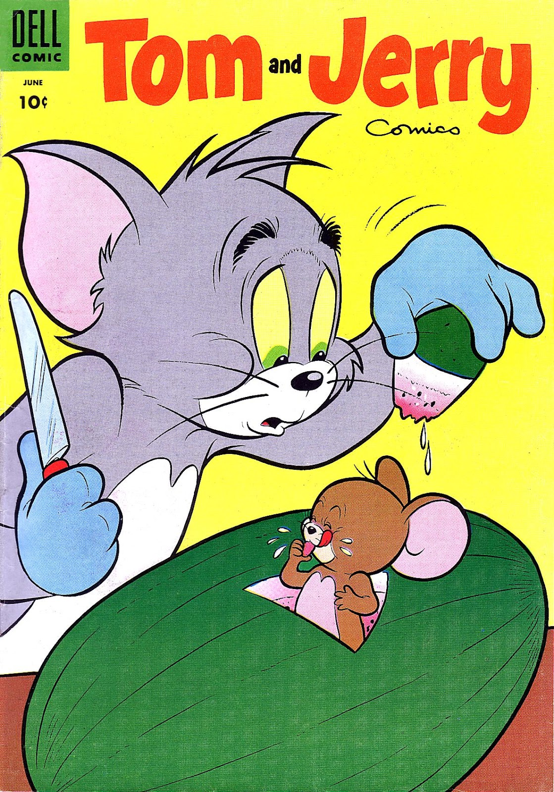 Tom & Jerry Comics issue 131 - Page 1