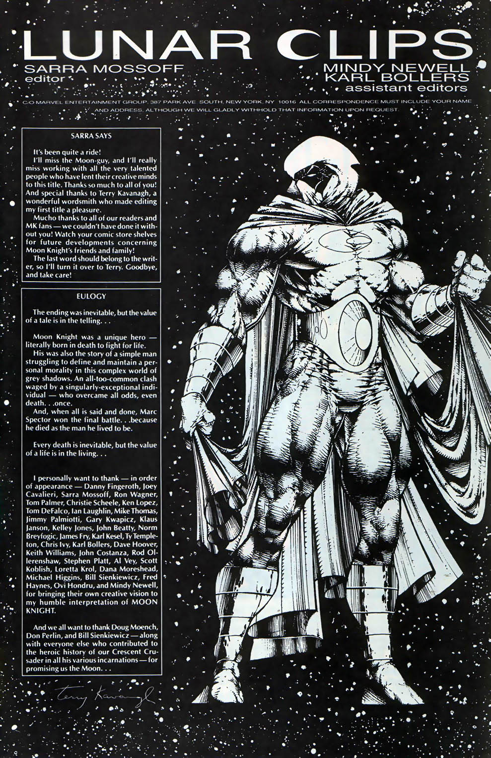 Marc Spector: Moon Knight Issue #60 #60 - English 23