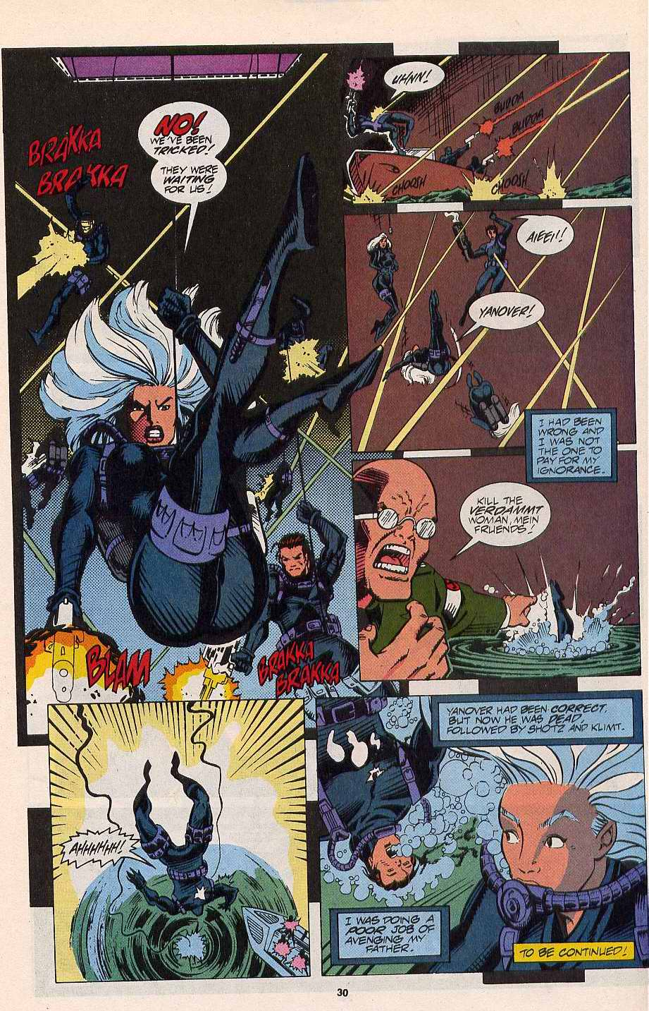 Read online Silver Sable and the Wild Pack comic -  Issue #11 - 23