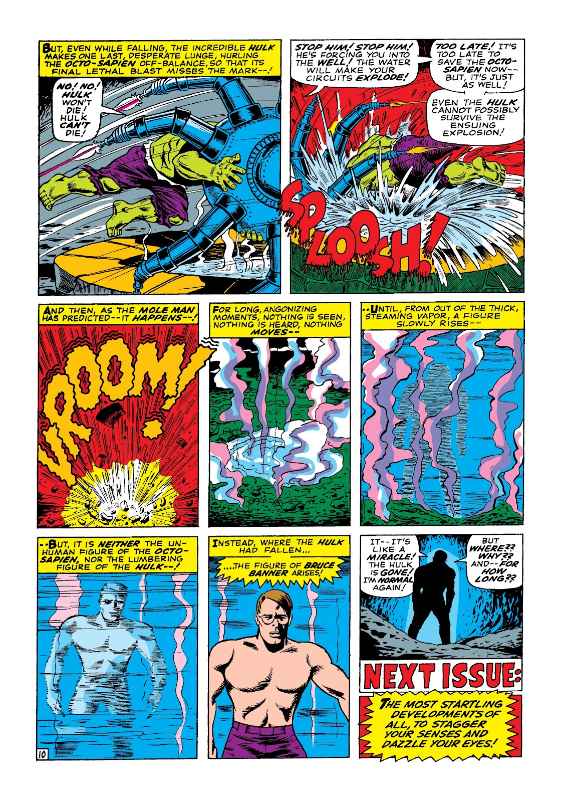 Read online Marvel Masterworks: The Incredible Hulk comic -  Issue # TPB 3 (Part 1) - 17