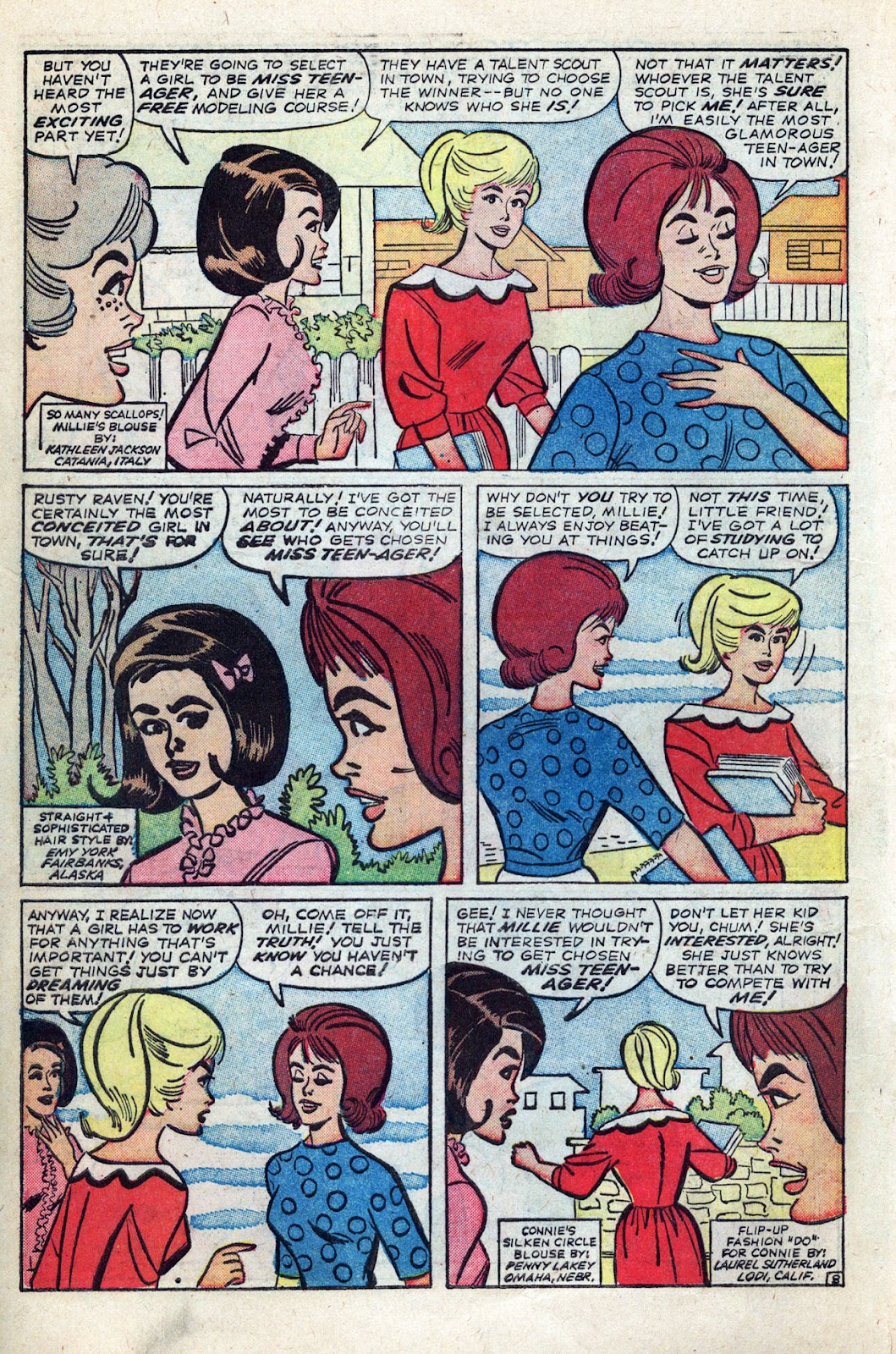 Millie the Model issue Annual 3 - Page 12
