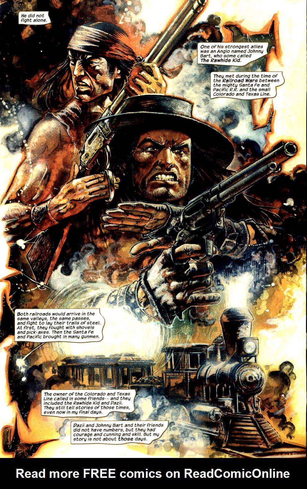 Read online Apache Skies comic -  Issue #1 - 5