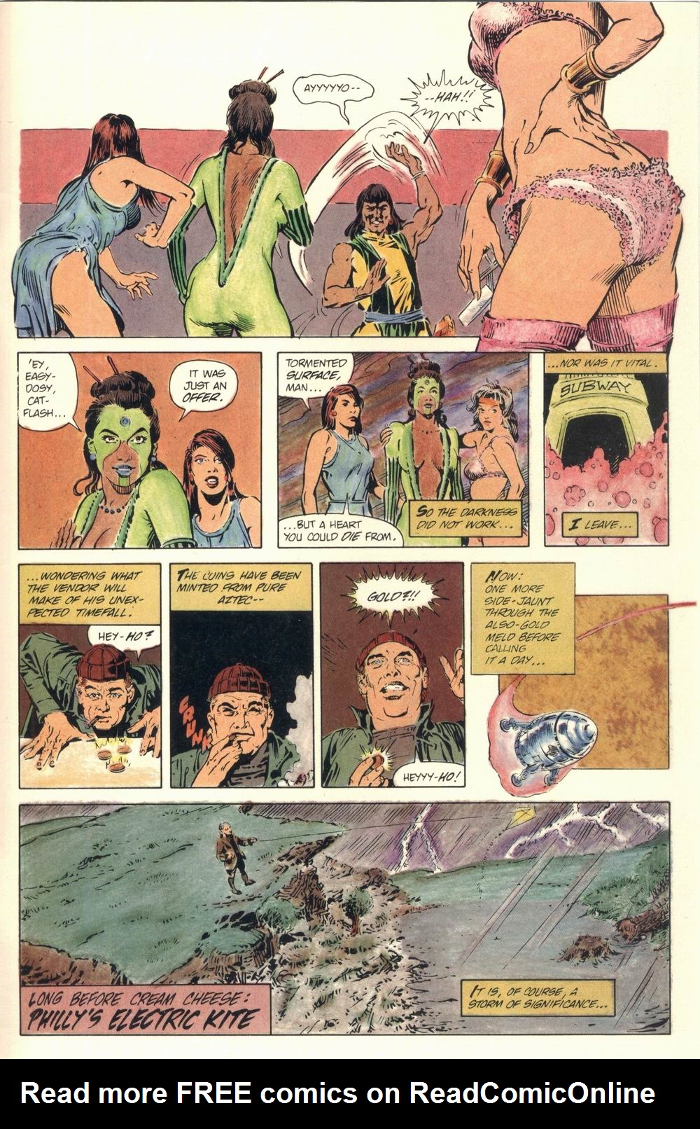 Read online Aztec Ace comic -  Issue #1 - 46
