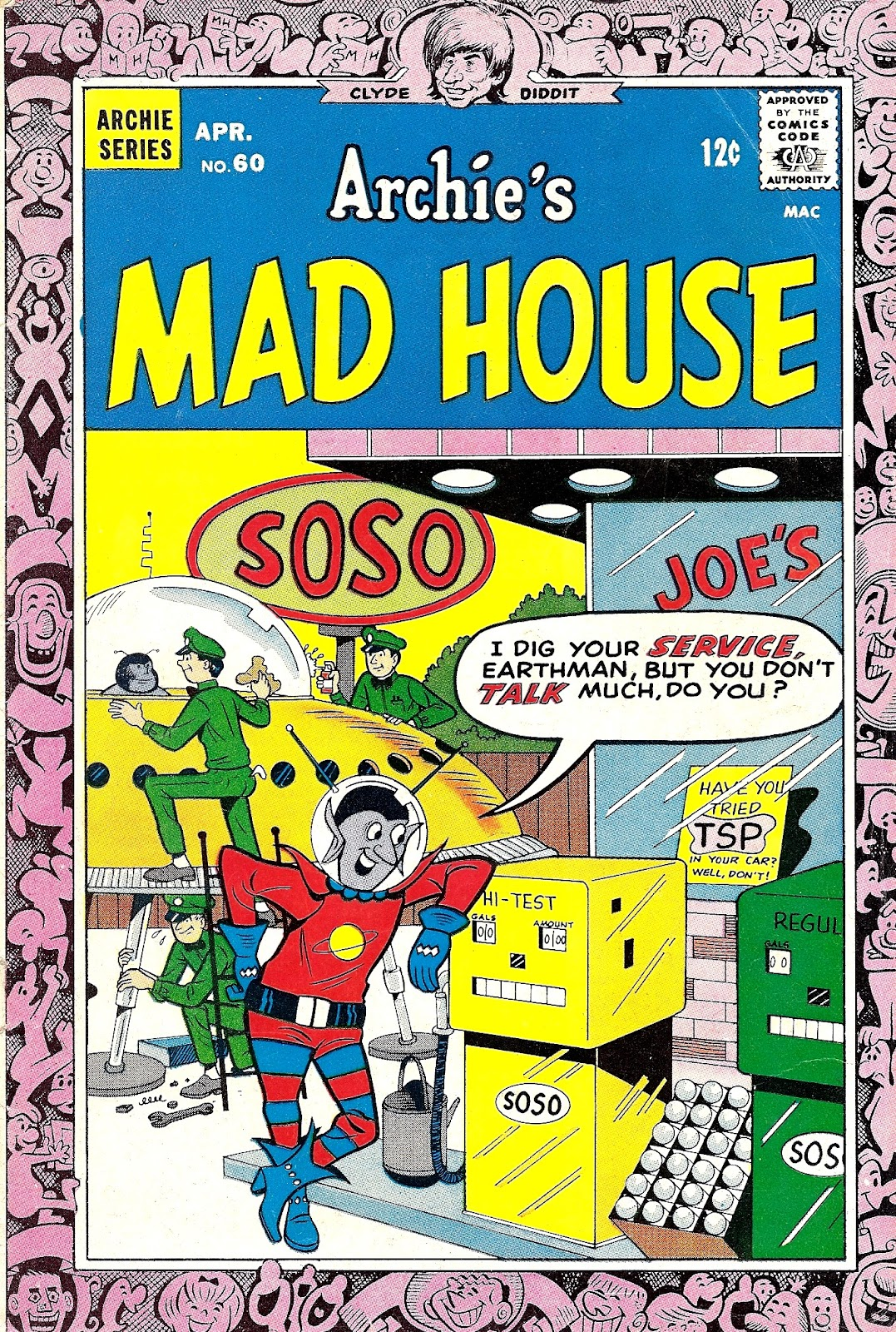 Archie's Madhouse issue 60 - Page 1