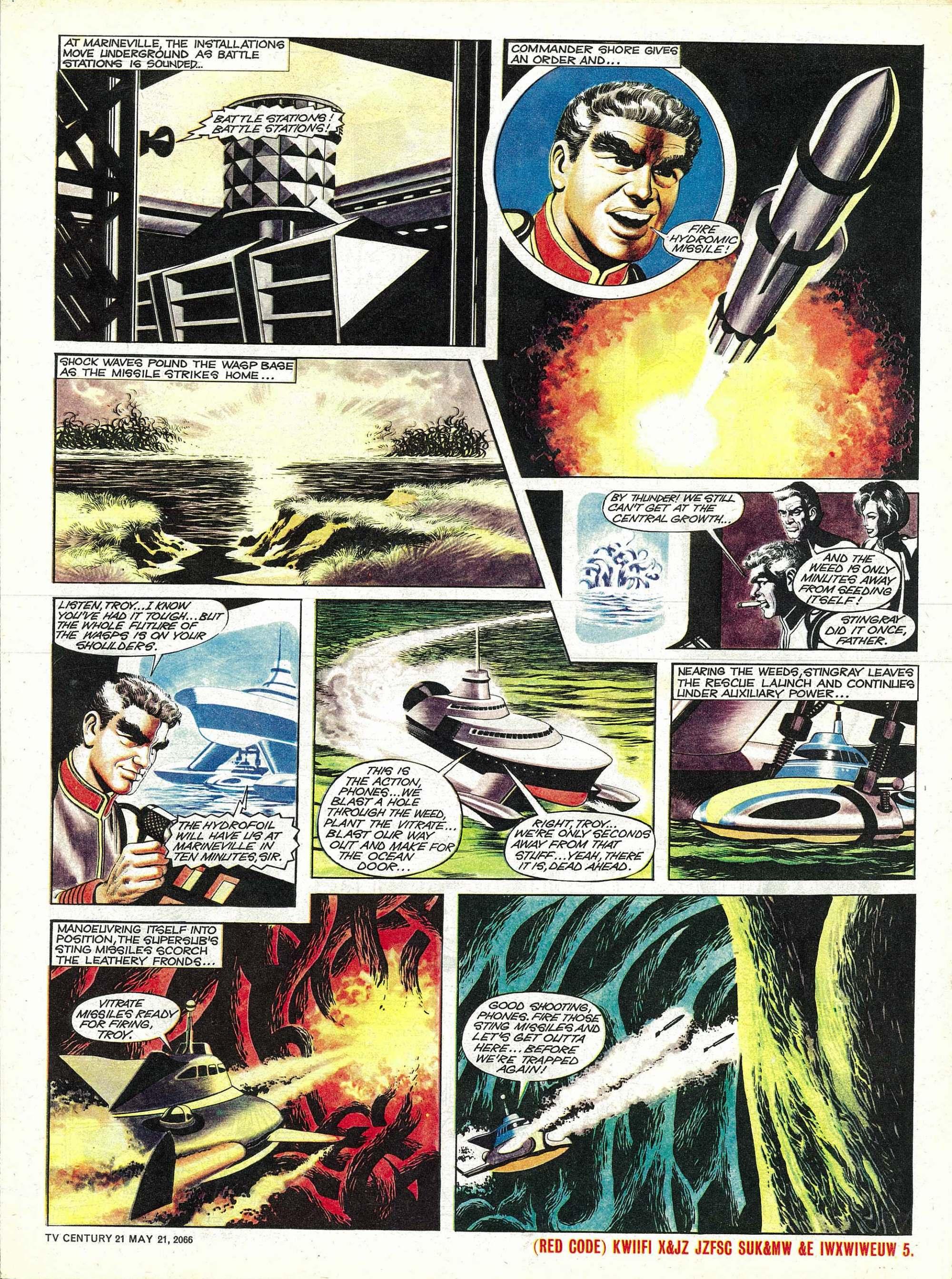 Read online TV Century 21 (TV 21) comic -  Issue #70 - 5