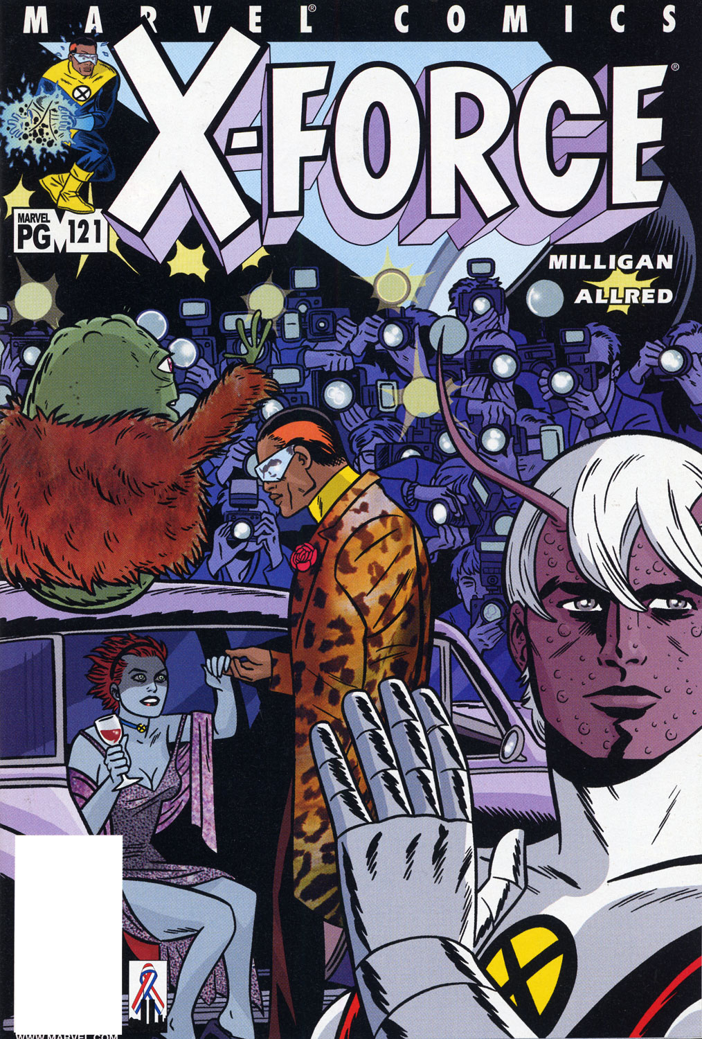 X-Force (1991) 121 Page 1