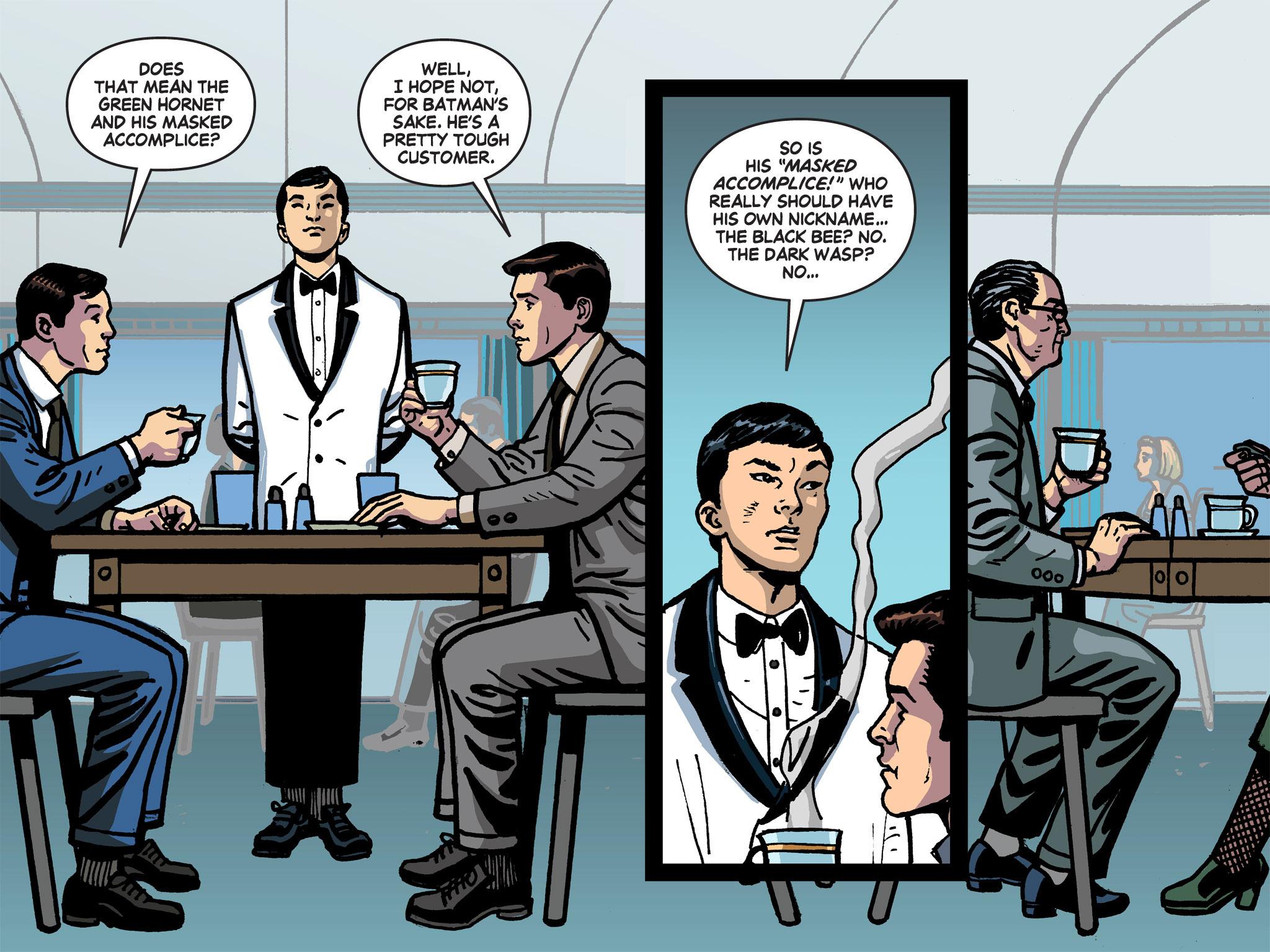 Read online Batman '66 Meets the Green Hornet [II] comic -  Issue #1 - 55