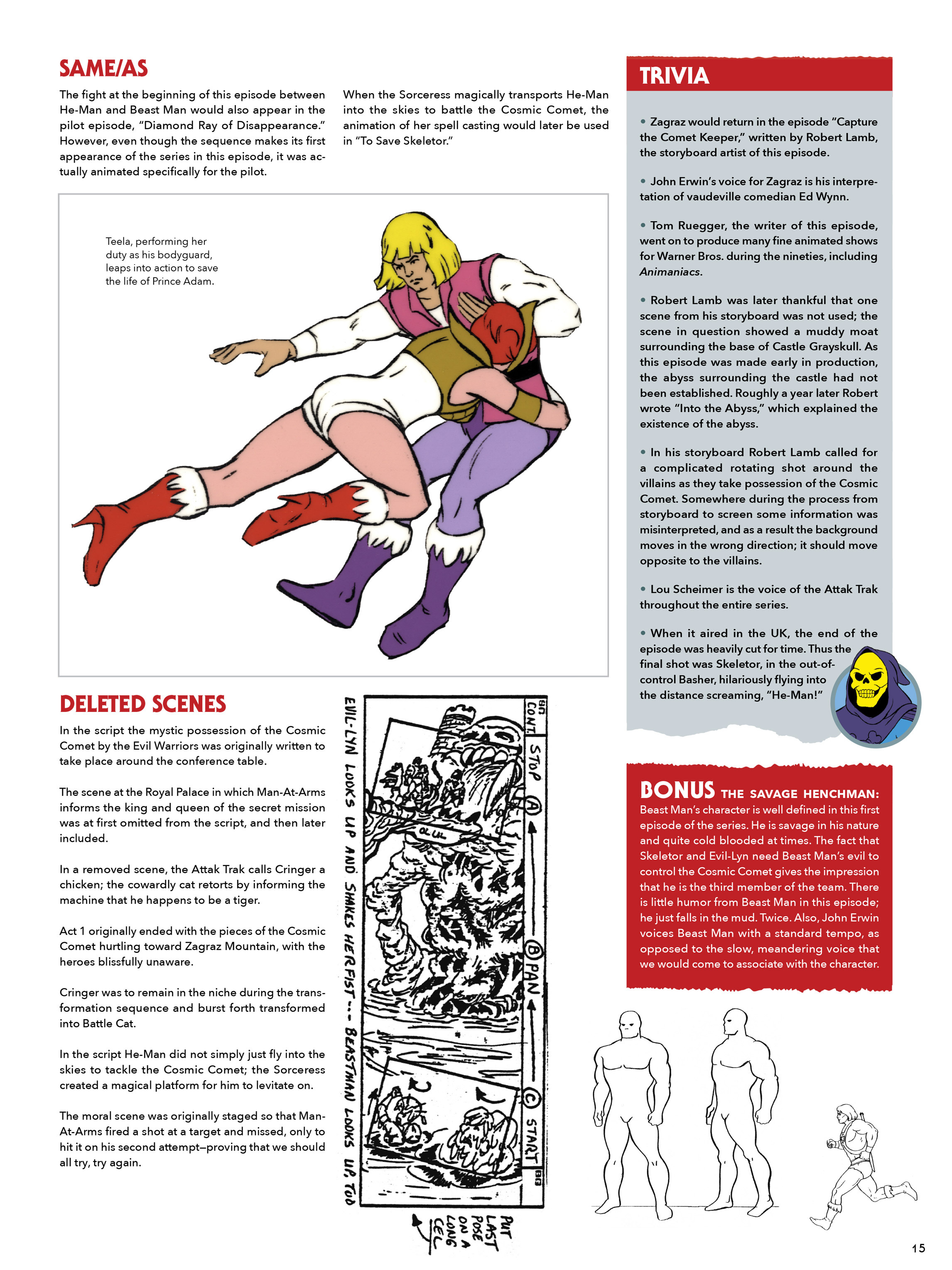 Read online He-Man and She-Ra: A Complete Guide to the Classic Animated Adventures comic -  Issue # TPB (Part 1) - 15