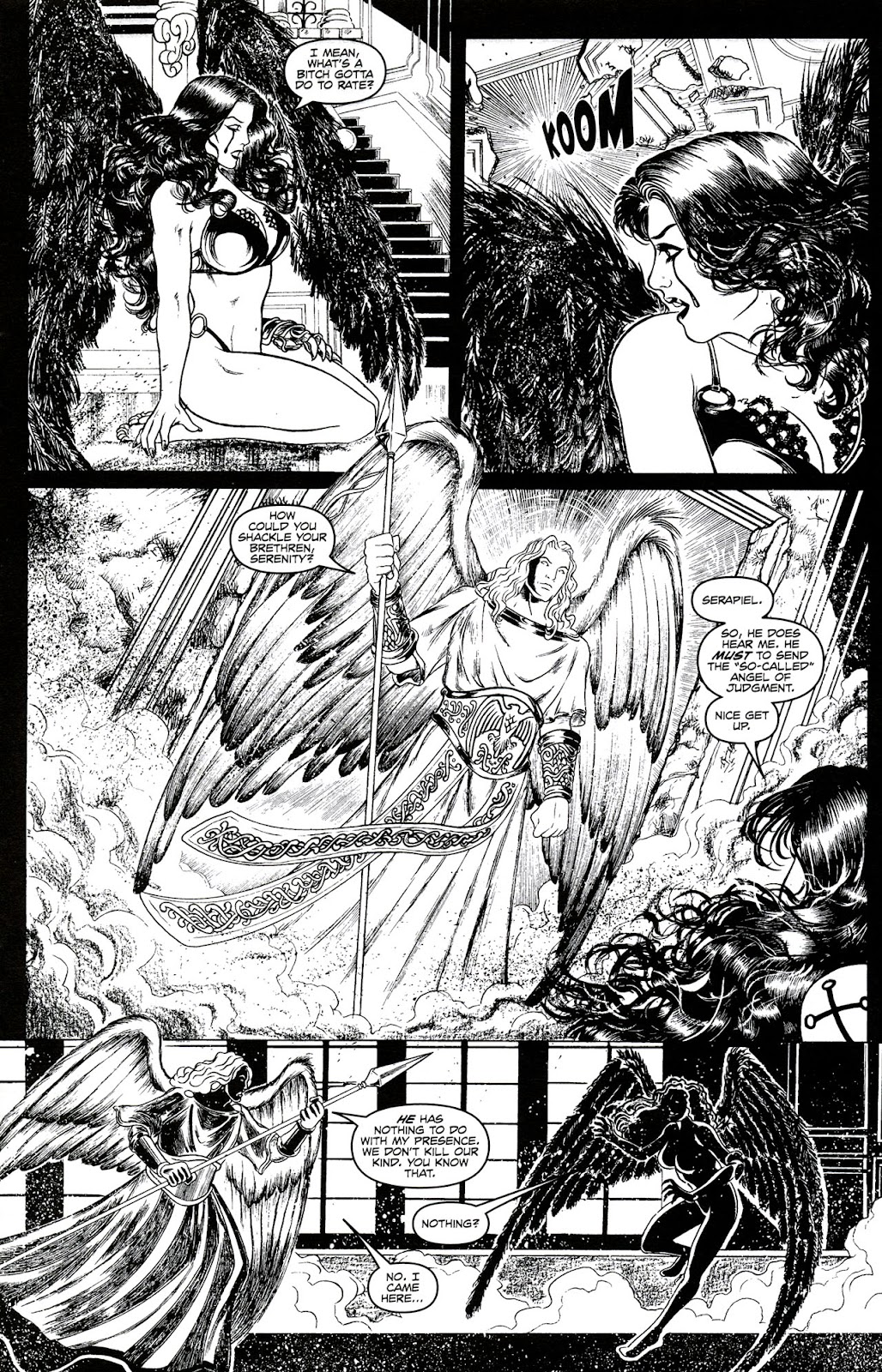 Read online Brian Pulido's War Angel comic -  Issue #0 - 16