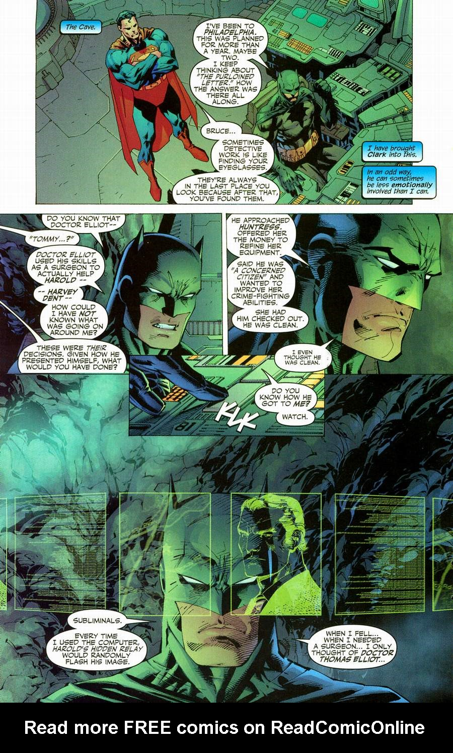 Read online Batman: Hush comic -  Issue #12 - 16