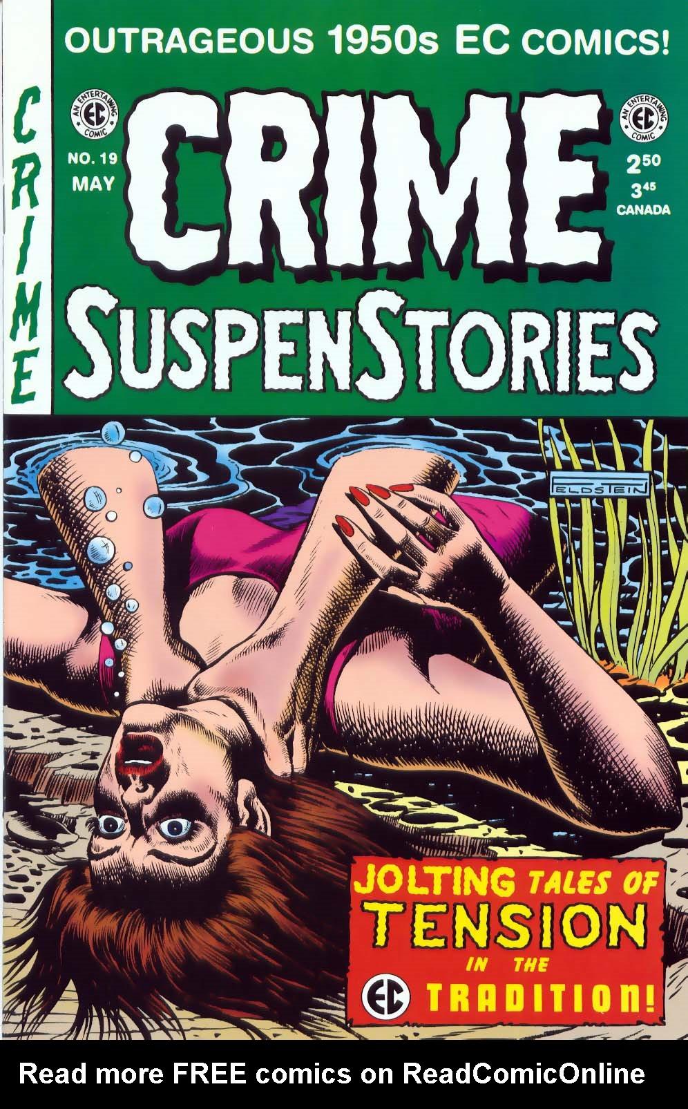 Crime SuspenStories 19 Page 1