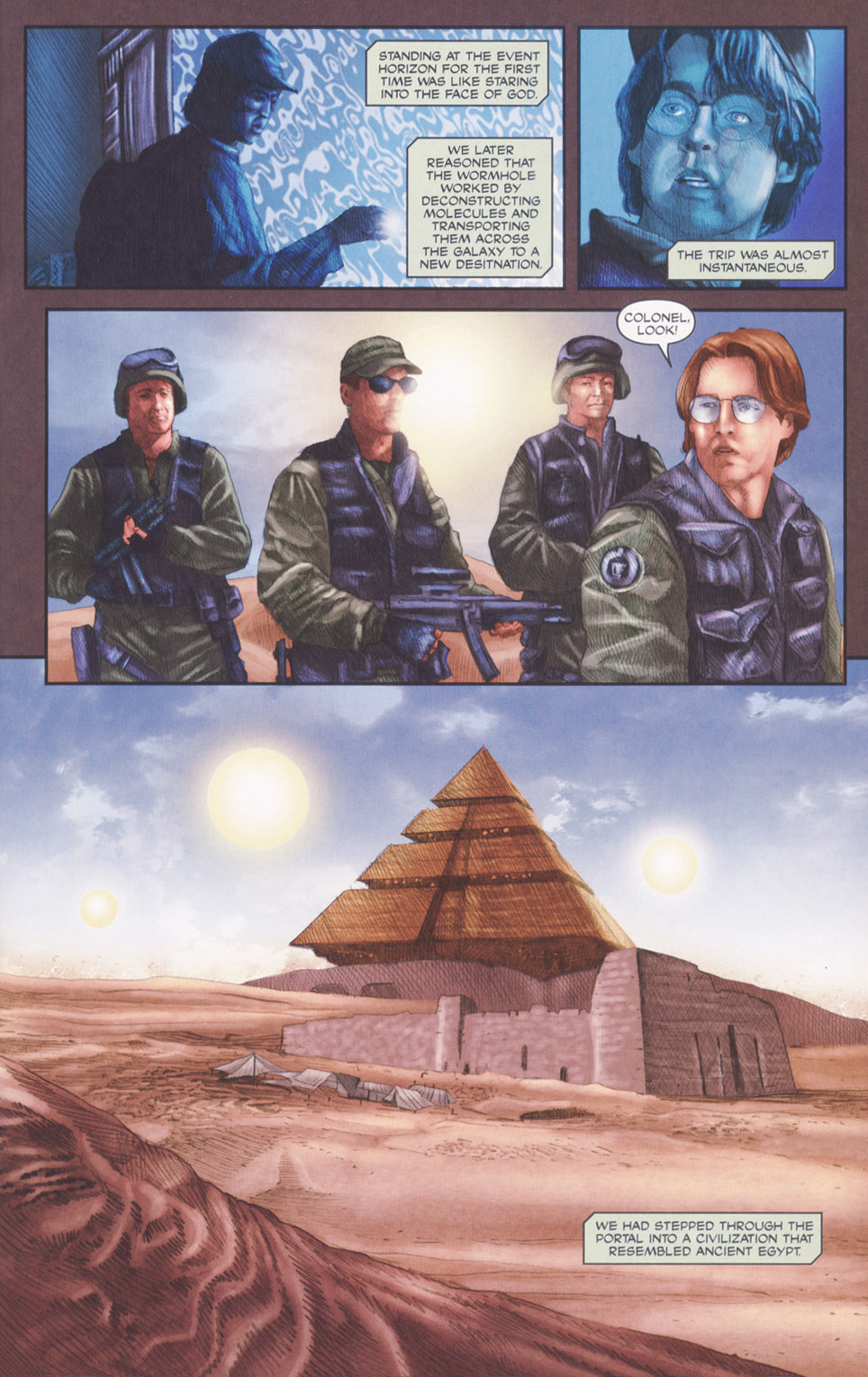 Read online Stargate SG-1: POW comic -  Issue #2 - 13