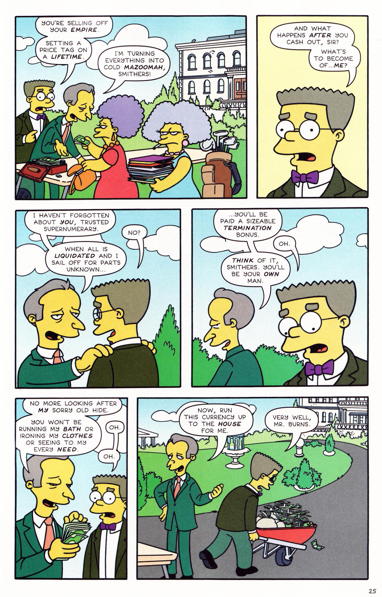 Read online Simpsons Comics comic -  Issue #132 - 21