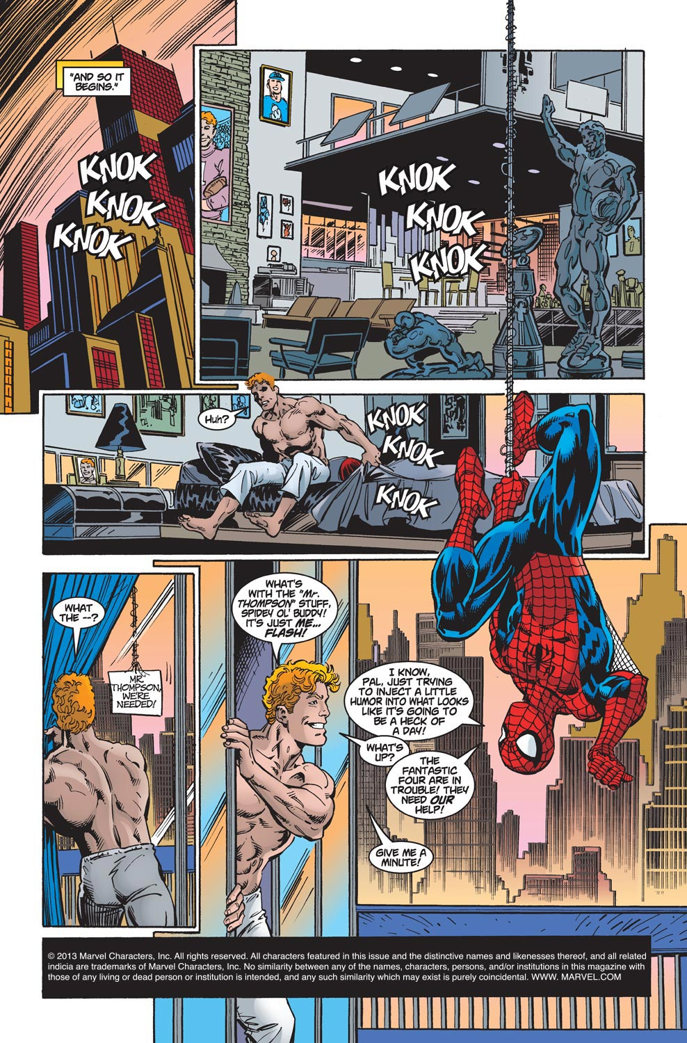 The Amazing Spider-Man (1999) 7 Page 1
