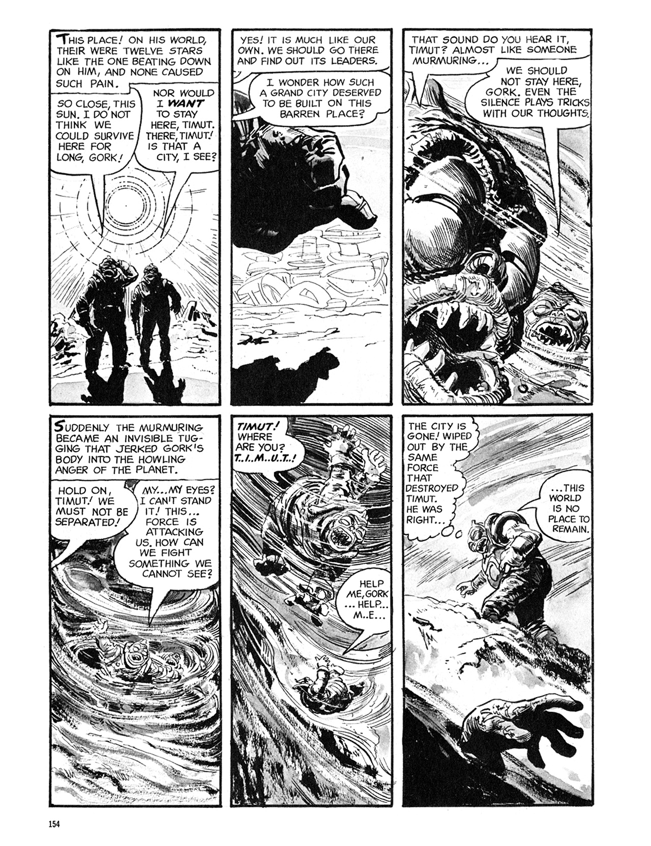 Read online Eerie Archives comic -  Issue # TPB 5 - 155