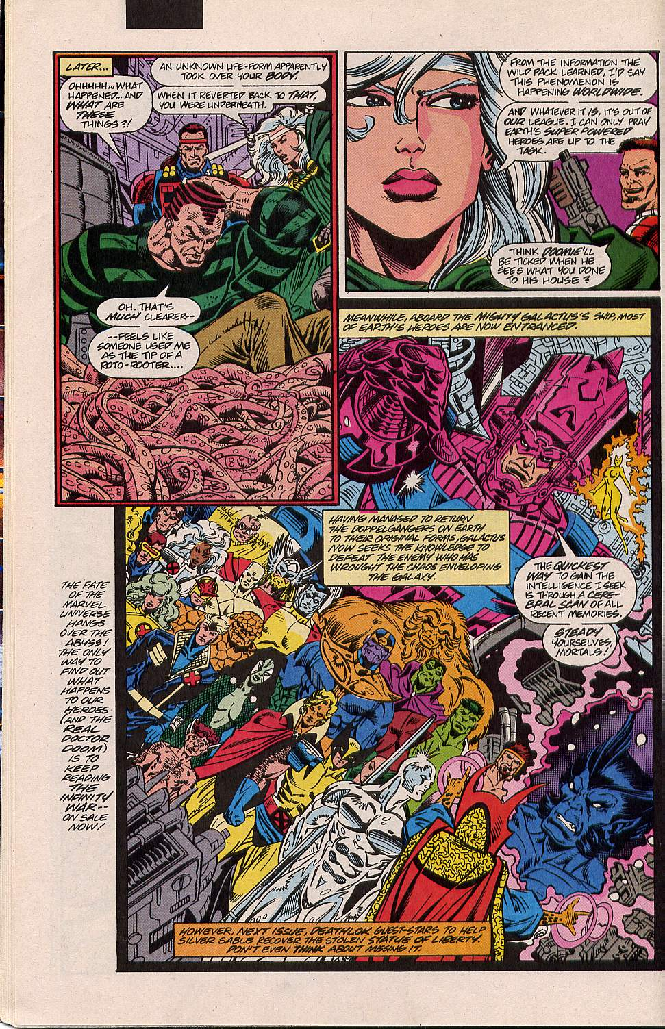 Read online Silver Sable and the Wild Pack comic -  Issue #5 - 22